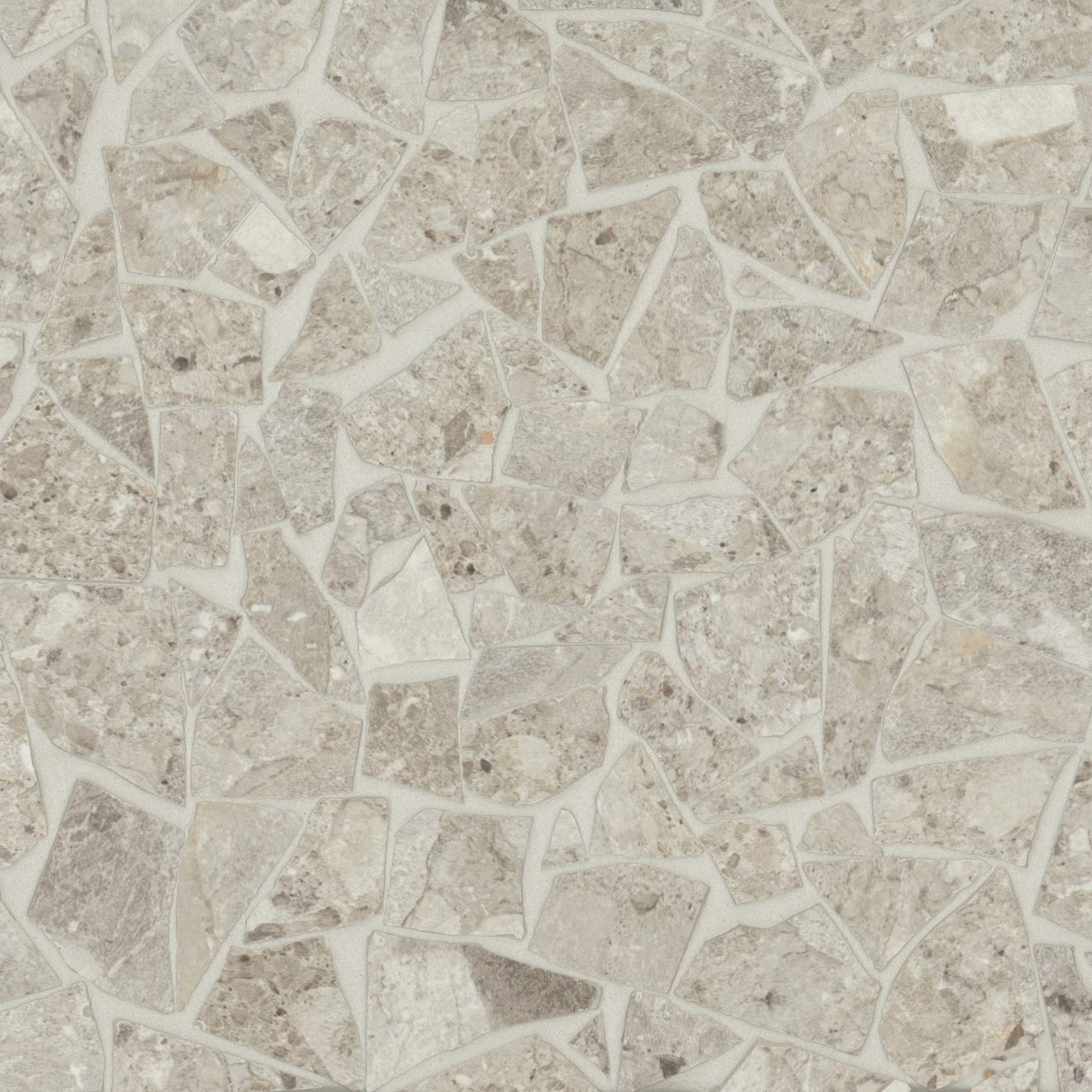 Frammenta Floor & Wall Mosaic in Beige