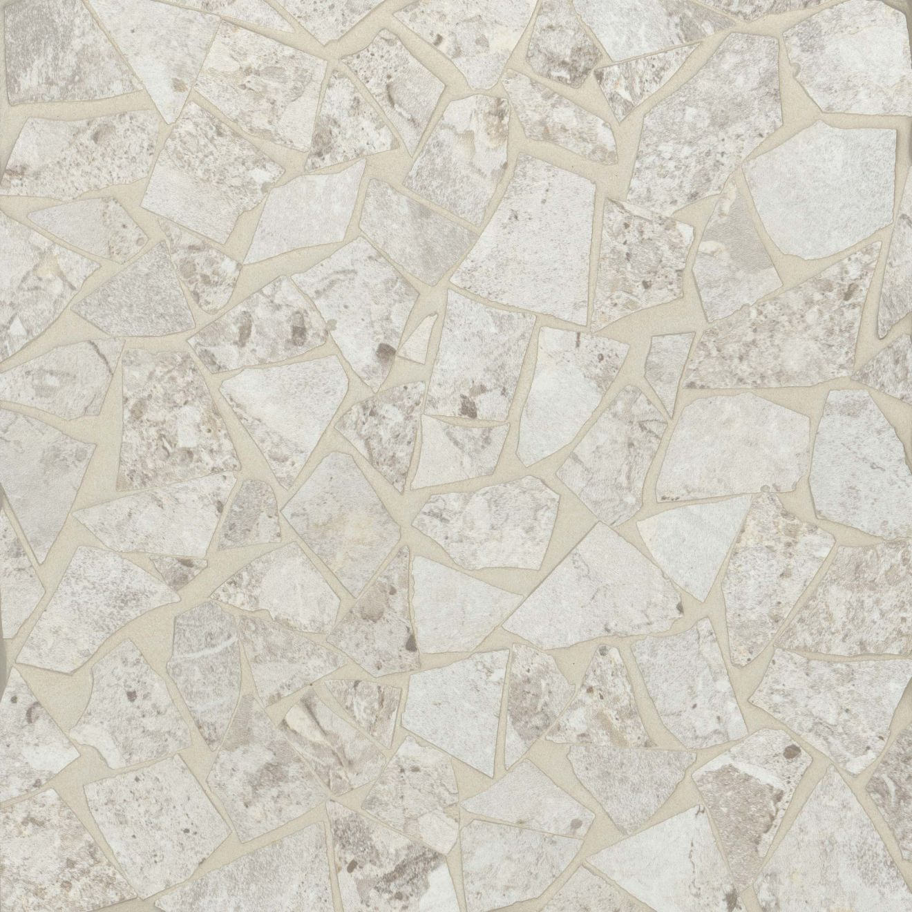 Frammenta Floor & Wall Mosaic in White