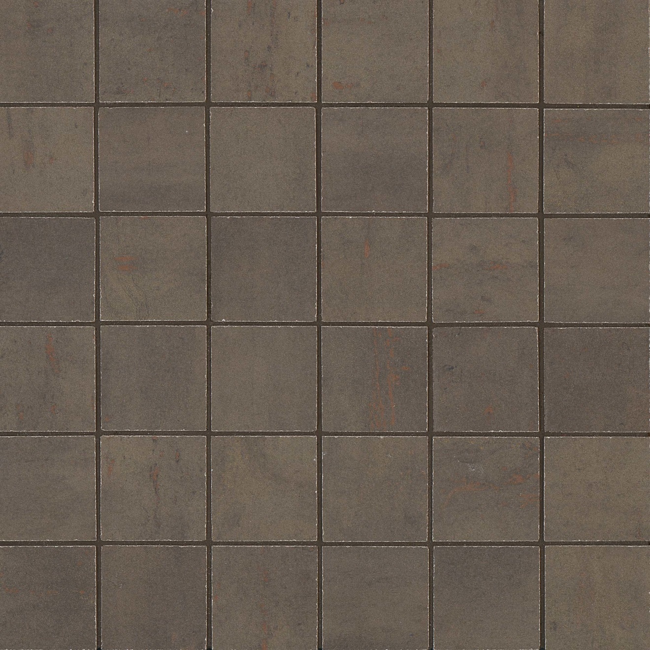 "Rebel 2"" x 2"" Floor & Wall Mosaic in Bronze"
