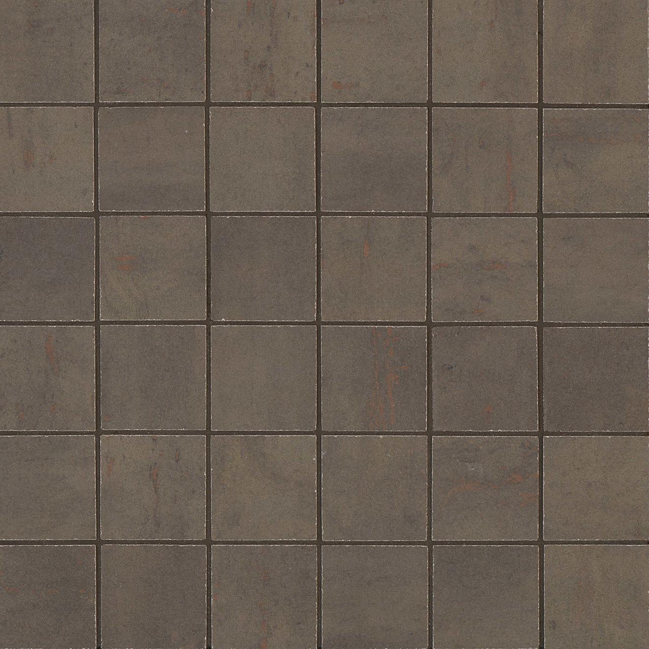 """Rebel 2"""" x 2"""" Floor & Wall Mosaic in Bronze"""