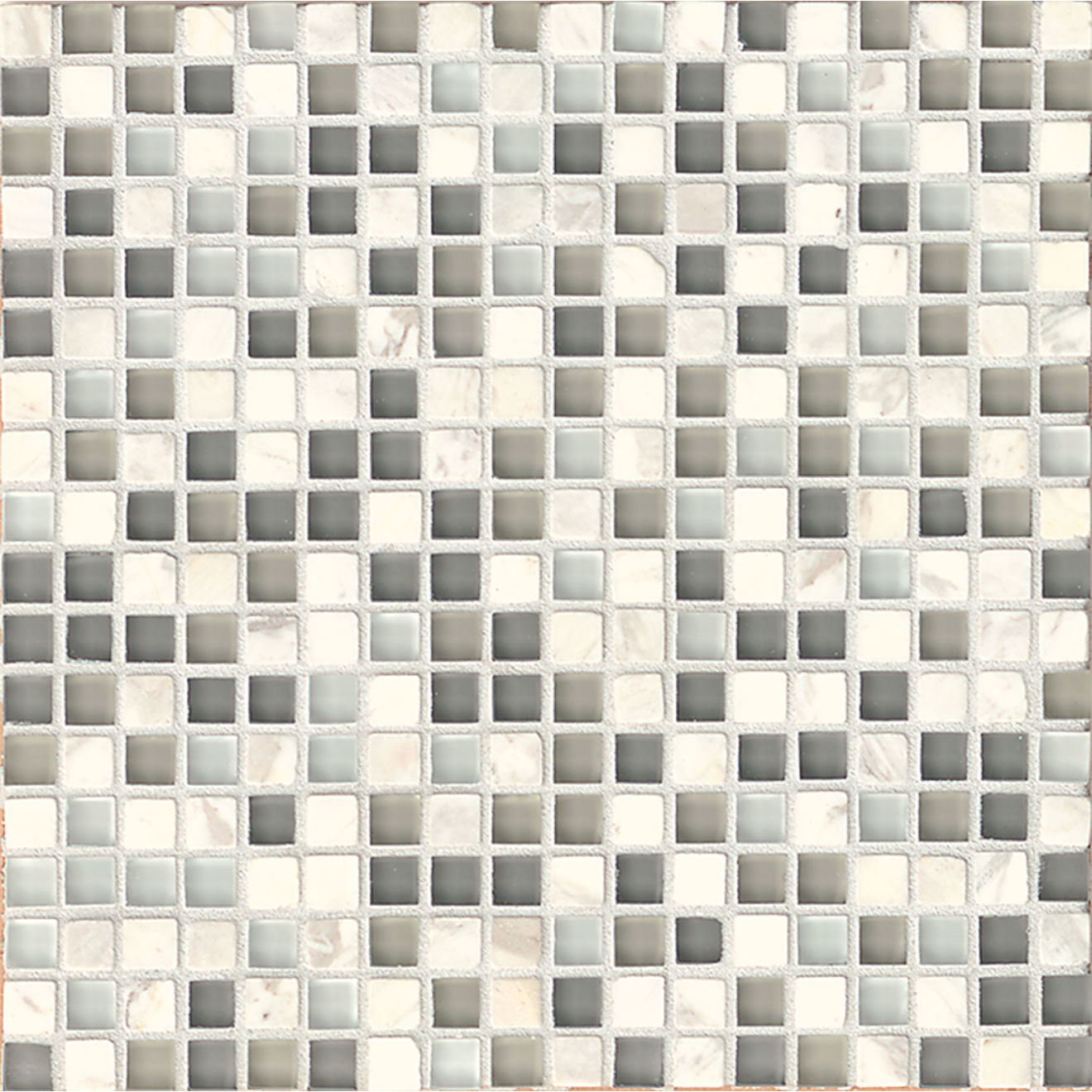"""Eclipse 5/8"""" x 5/8"""" Wall Mosaic in Eternity"""