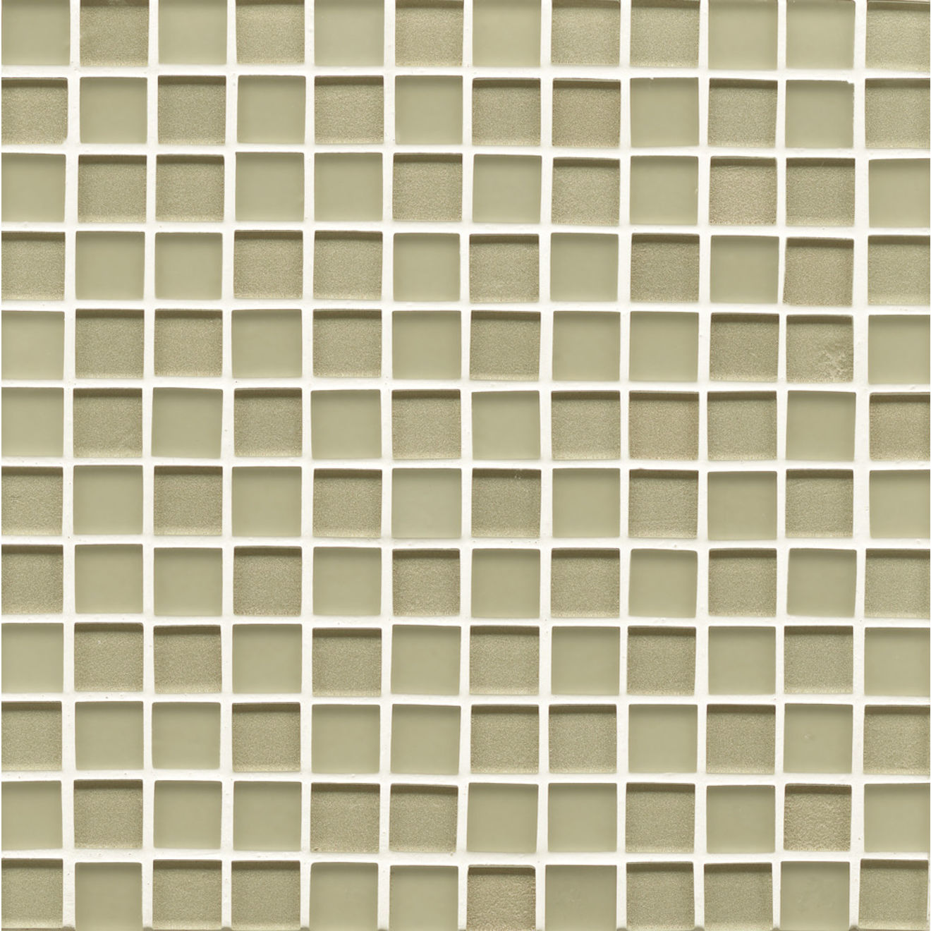 "Manhattan 1"" x 1"" Wall Mosaic in Pistachio"
