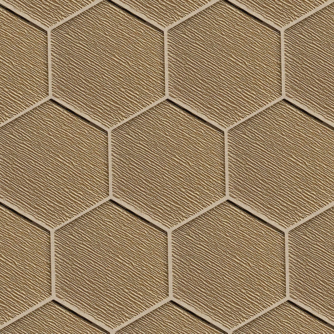 """Verve 4-7/8"""" x 5-5/8"""" Wall Mosaic in Golden Glimmer"""