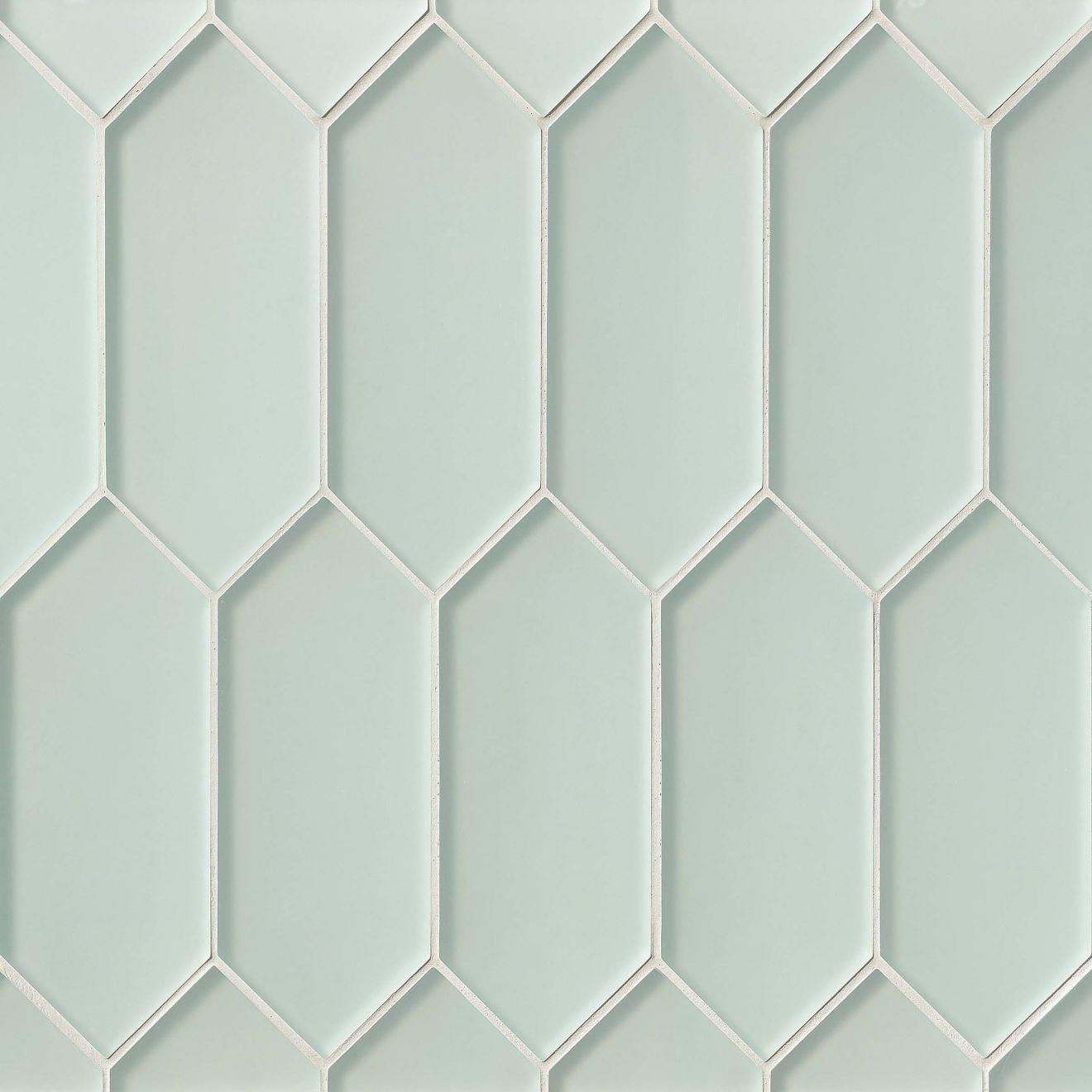 Verve Wall Mosaic in Ice Breaker