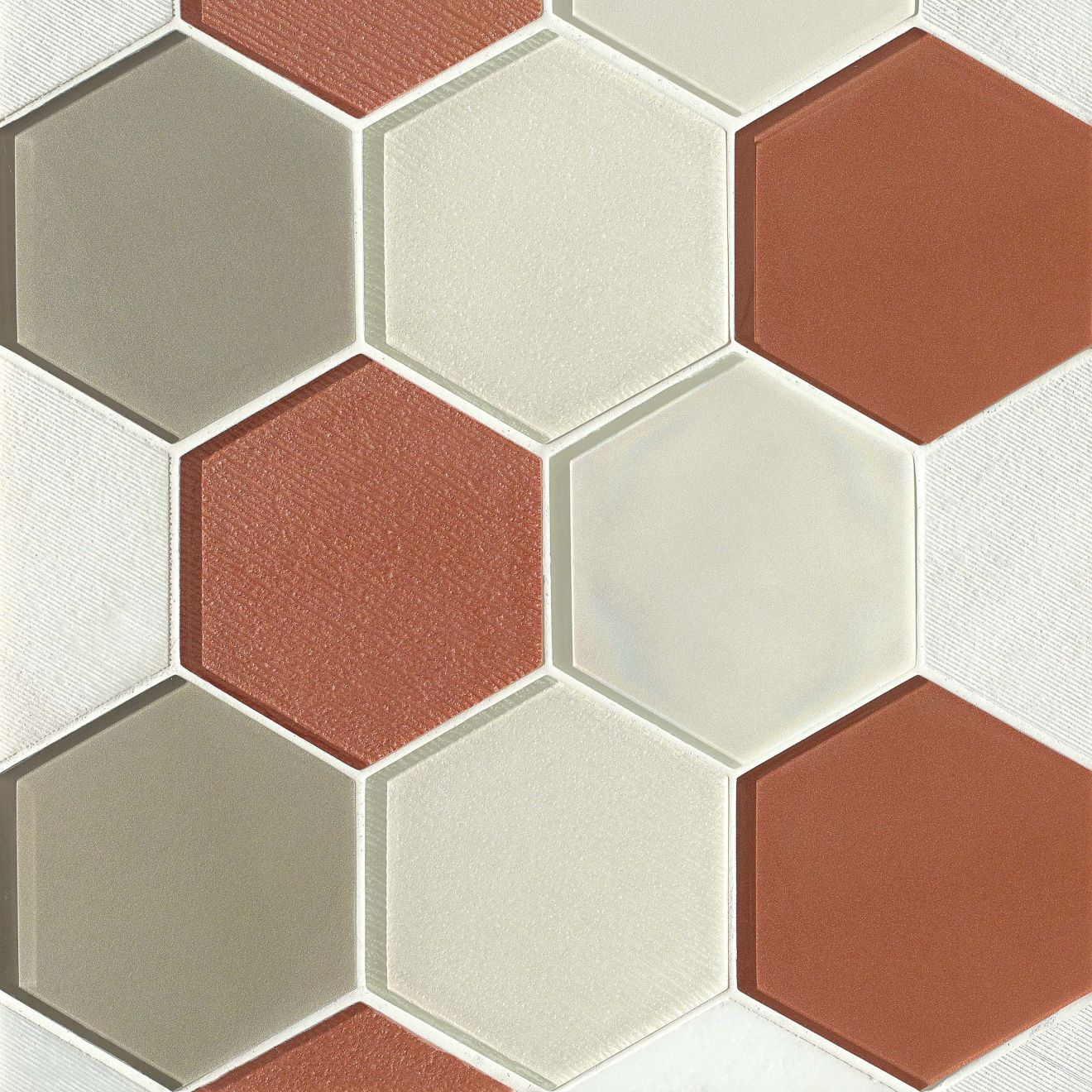 """Verve 4-7/8"""" x 5-5/8"""" Wall Mosaic in Knockout"""