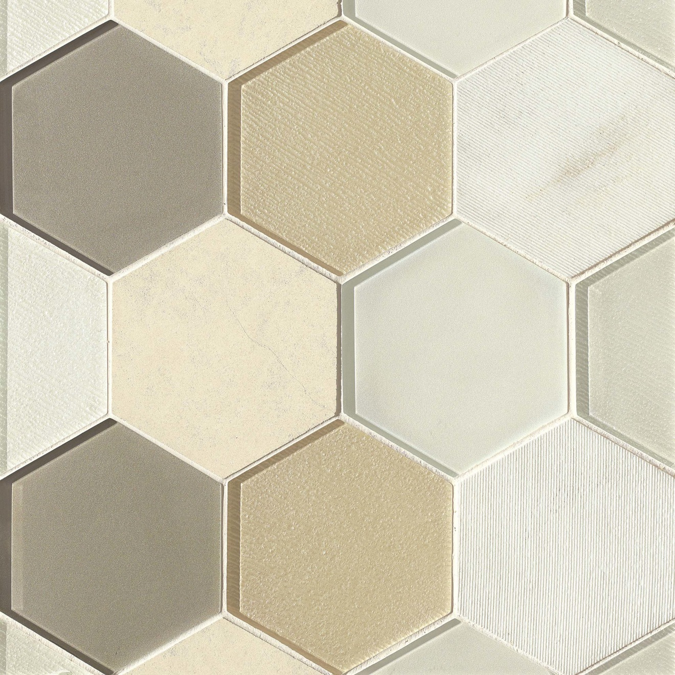 """Verve 4-7/8"""" x 5-5/8"""" Wall Mosaic in Sparkle"""