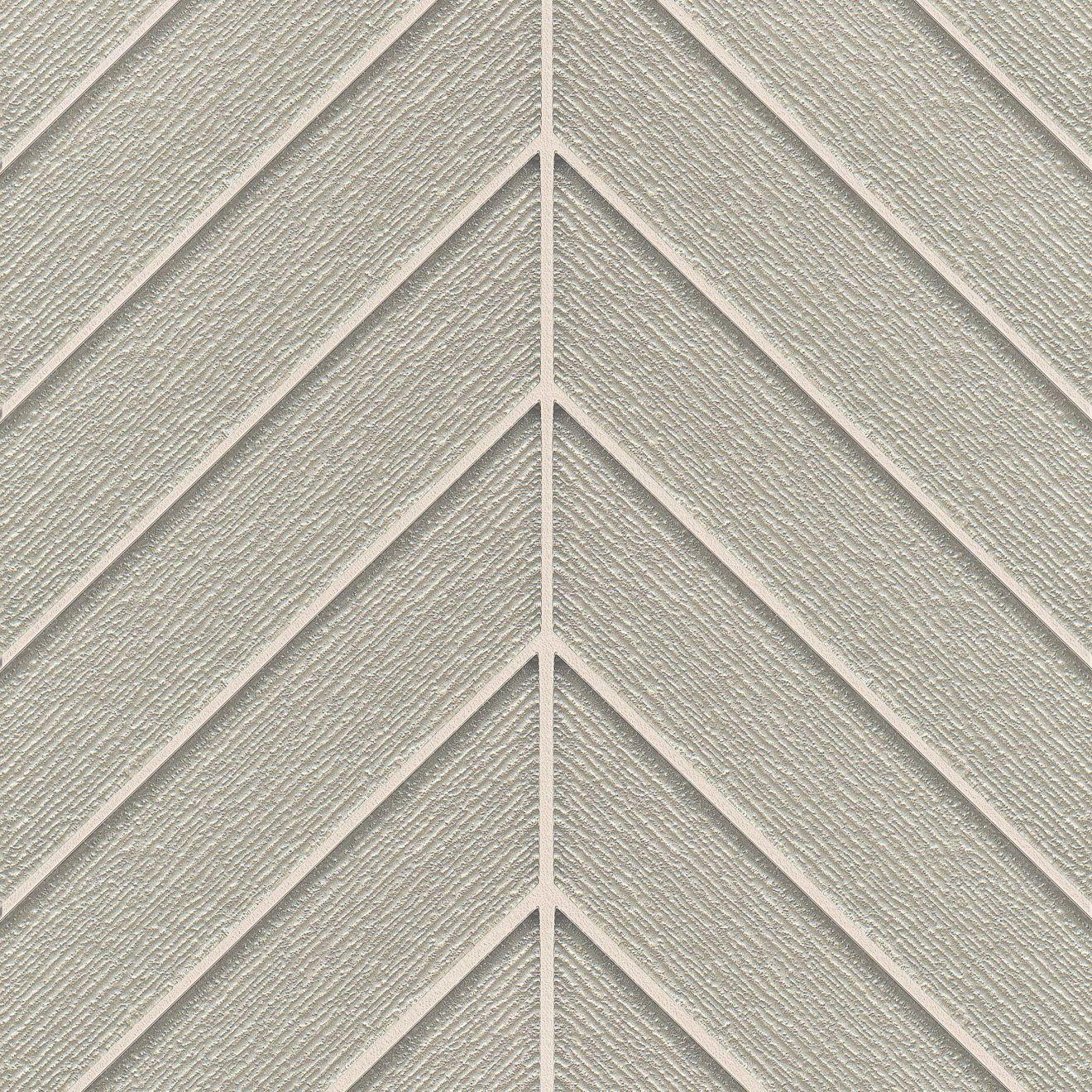 Verve Wall Mosaic in Tinsel Grey