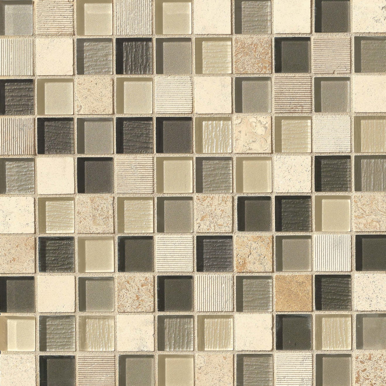"Verve 1-1/8"" x 1-1/8"" Wall Mosaic in Valiant"