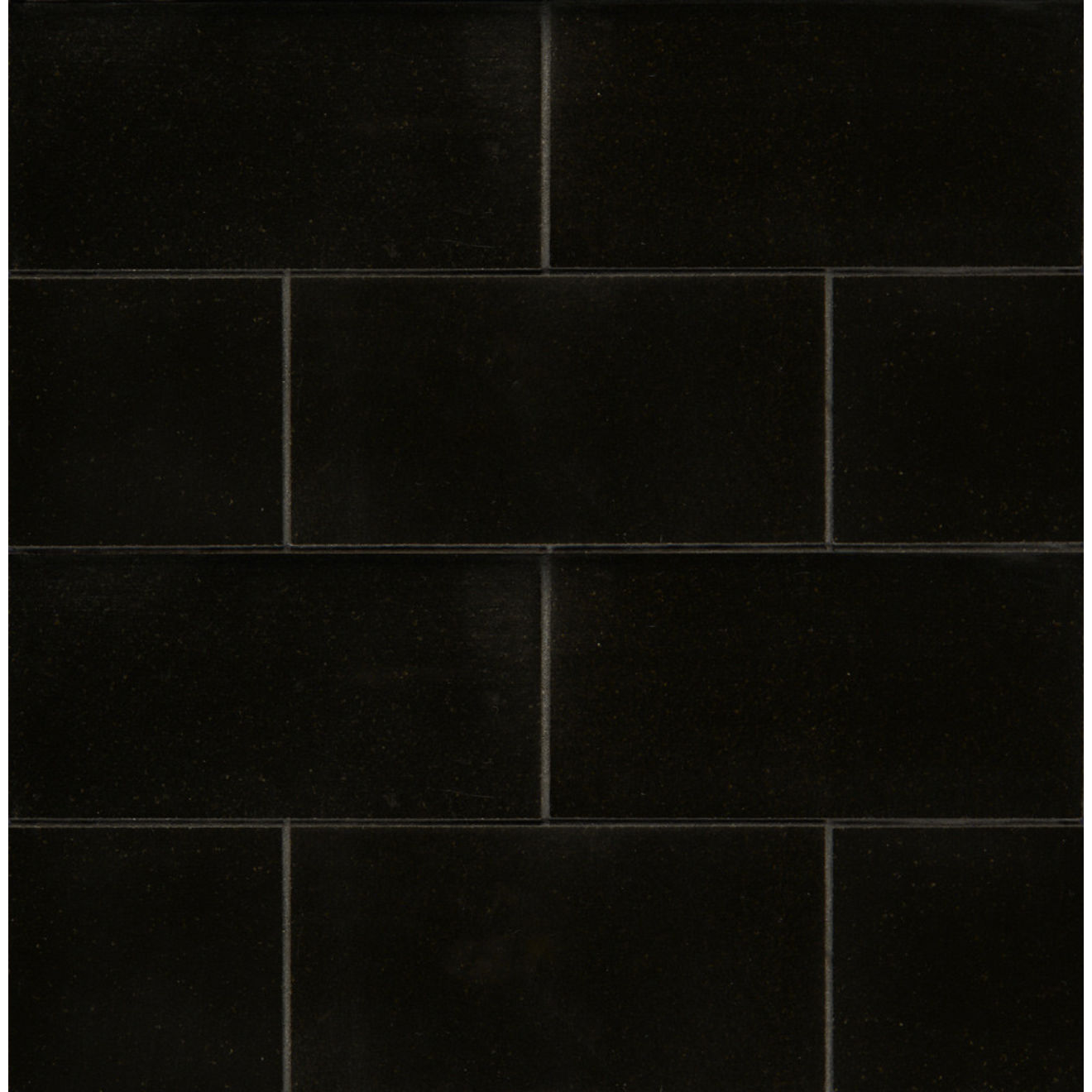 Absolute Black 3.00 x 6.00 Floor & Wall Tile