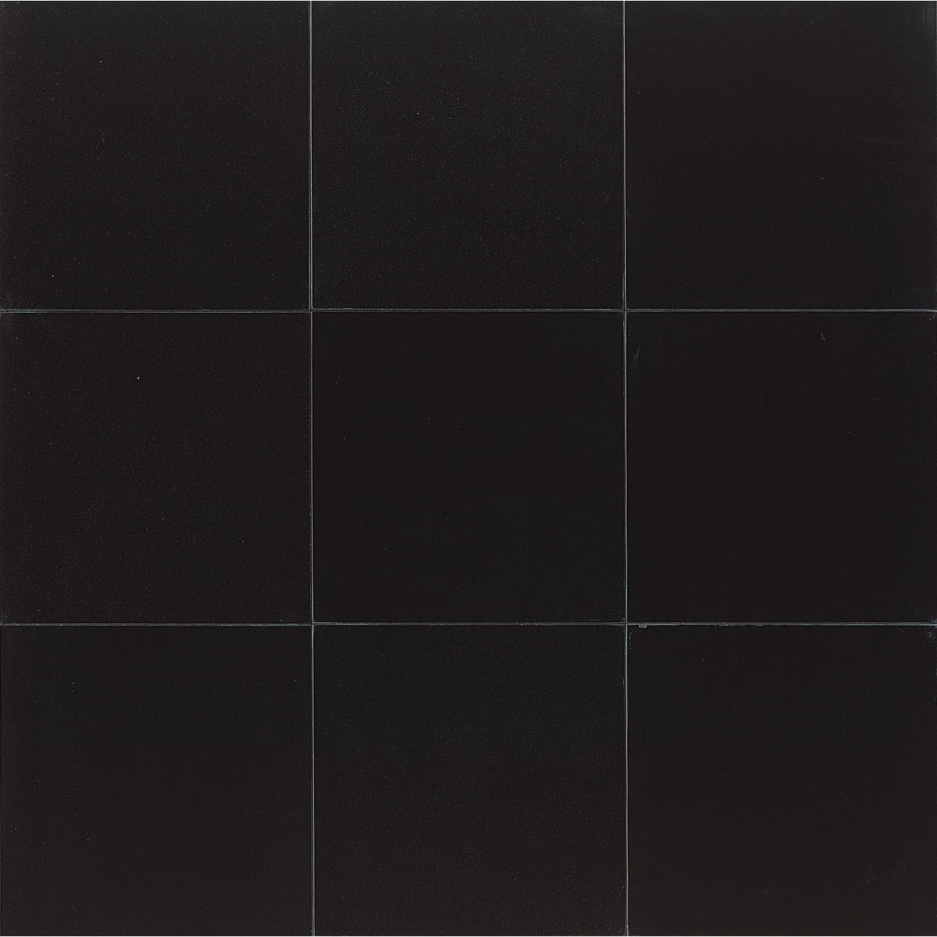 "Absolute Black 18"" x 18"" Wall Tile"