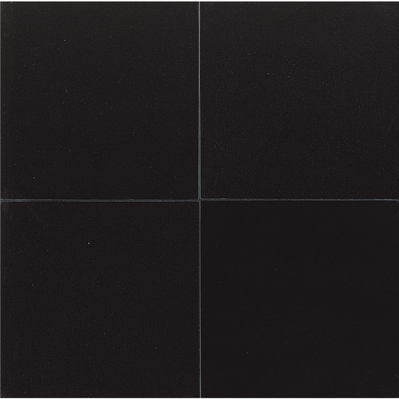 "Absolute Black 24"" x 24"" Wall Tile"