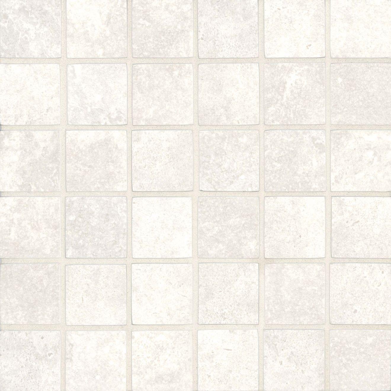 "Roma 2.0 2"" x 2"" Floor & Wall Mosaic in Bianco"