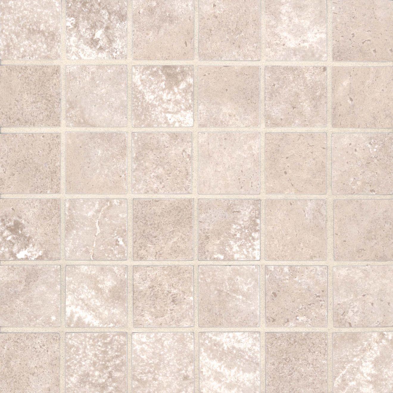 "Roma 2.0 2"" x 2"" Floor & Wall Mosaic in Latte"