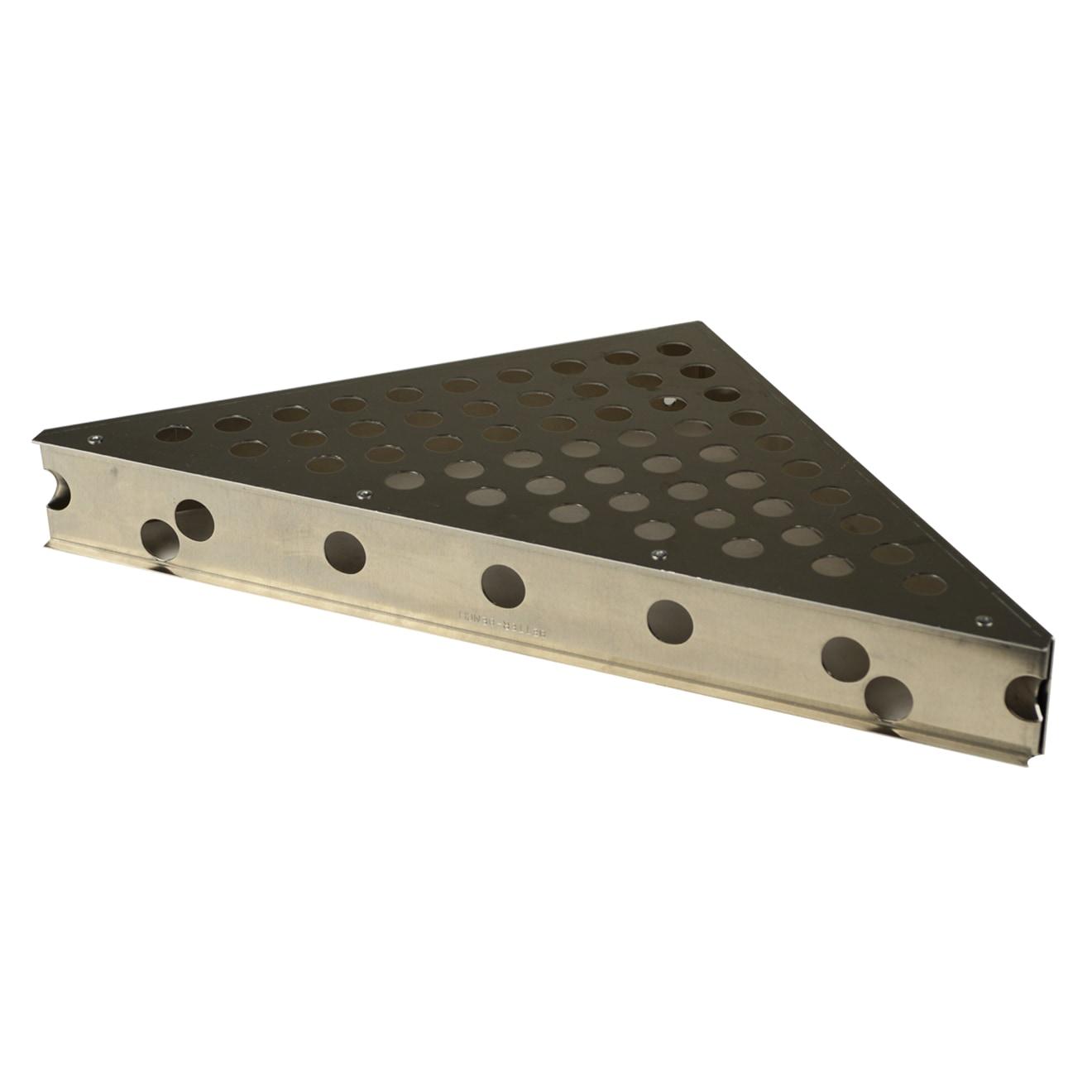 Innovis 21-1/2 in. x 21-1/2 in. x 30 in. Triangular Shower Bench