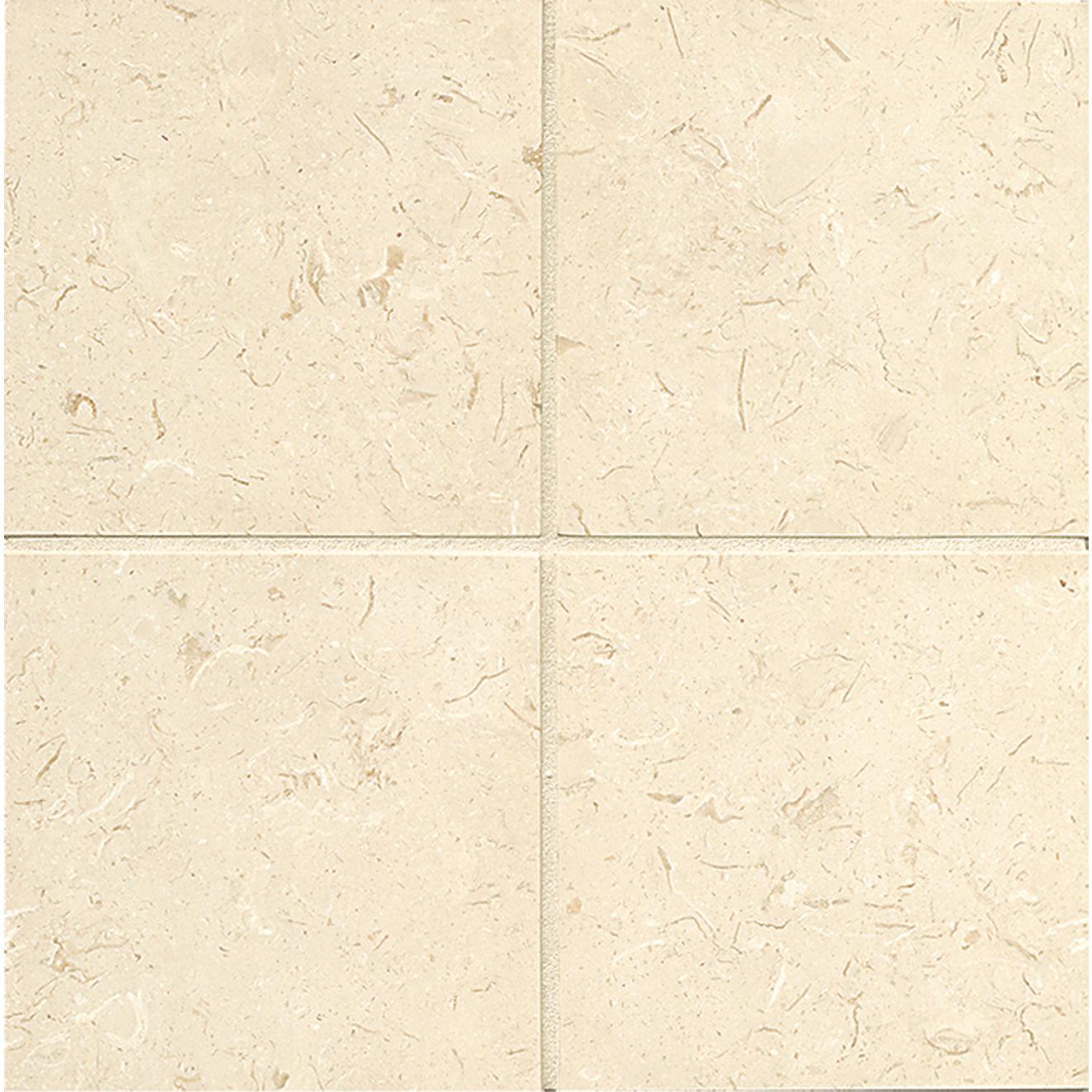 "Corinthian White 6"" x 6"" Floor & Wall Tile"