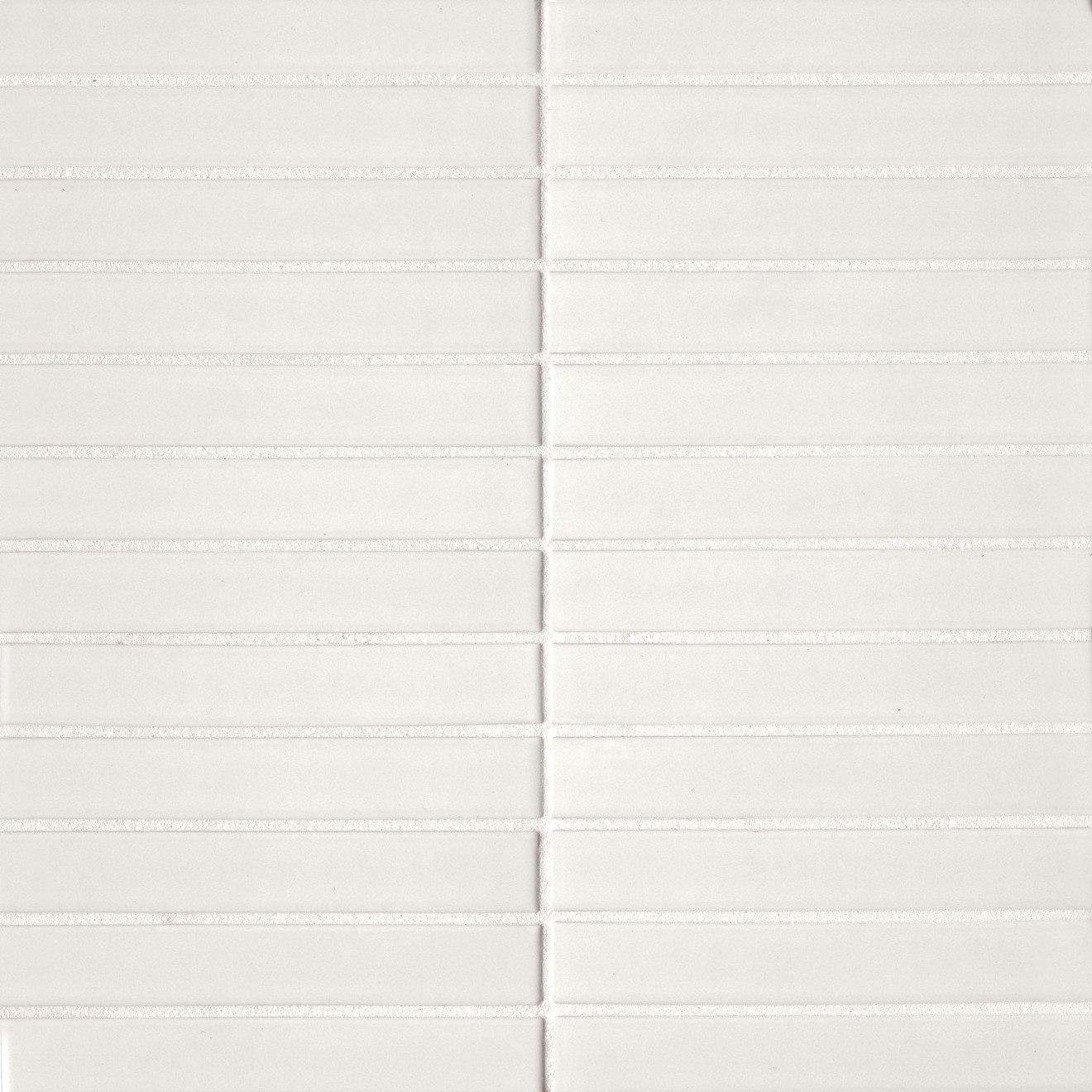 "Century 1"" x 6"" Wall Mosaic in White"