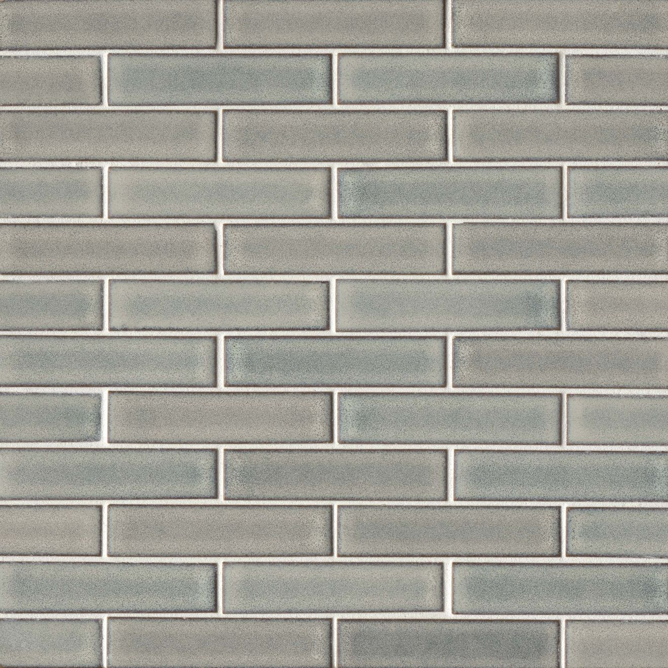 "Seni 1"" x 4"" Floor & Wall Mosaic in Grey"