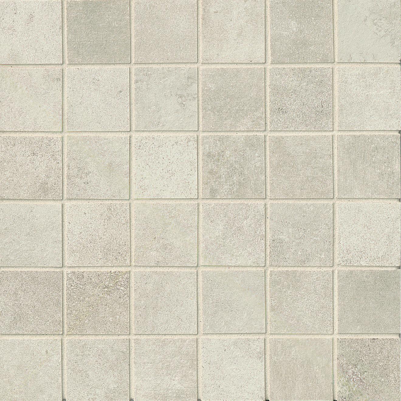 "Officine 2"" x 2"" Floor & Wall Mosaic in Acid (OF 01)"