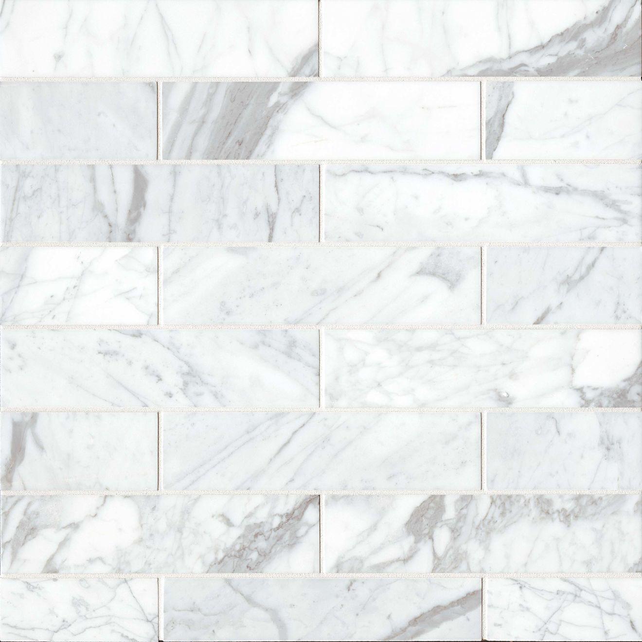 "Calacatta 3"" x 12"" Floor & Wall Tile"