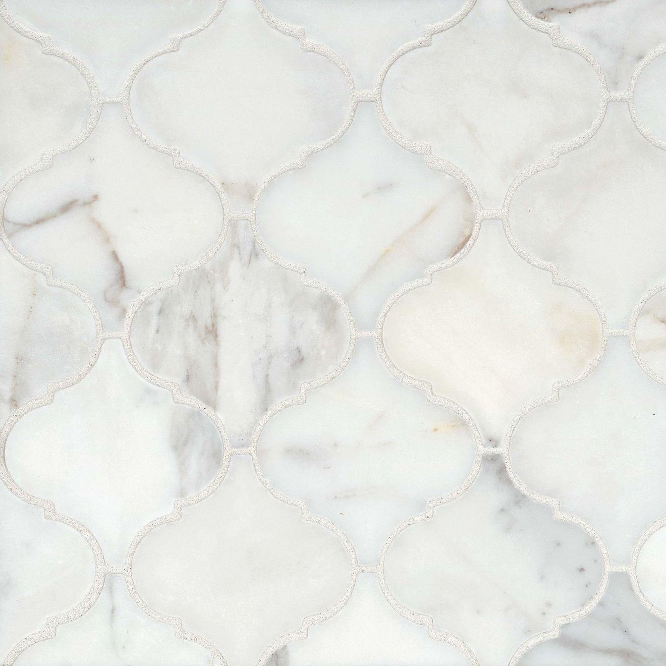 Calacatta Floor & Wall Mosaic