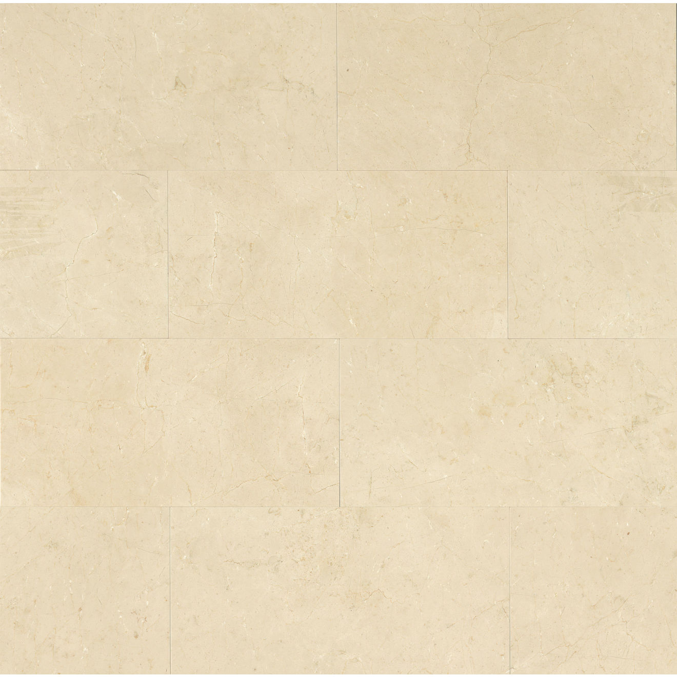 "Crema Marfil Classic 12"" x 24"" Floor & Wall Tile"