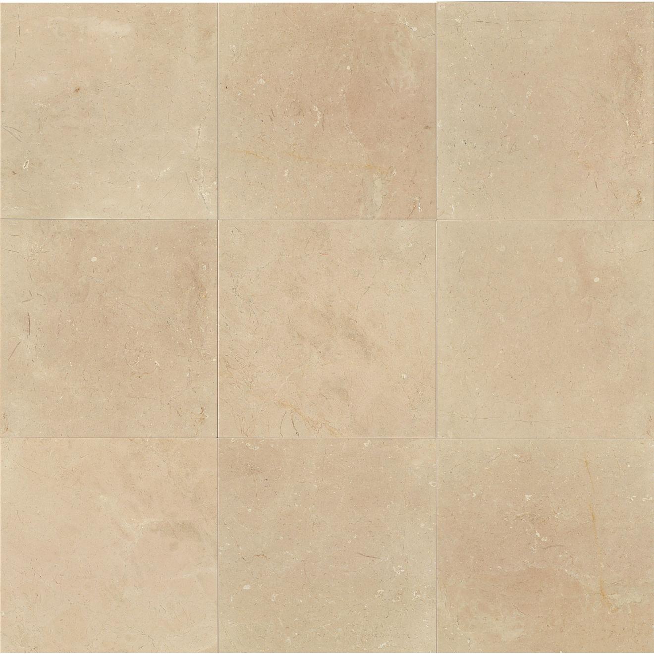 "Crema Marfil Classic 18"" x 18"" Floor & Wall Tile"