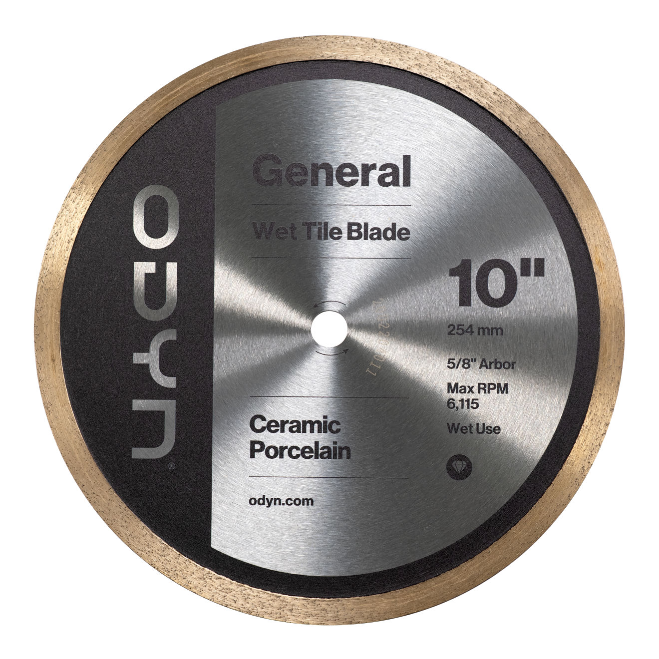 Odyn 10 in. General Wet Tile Blade