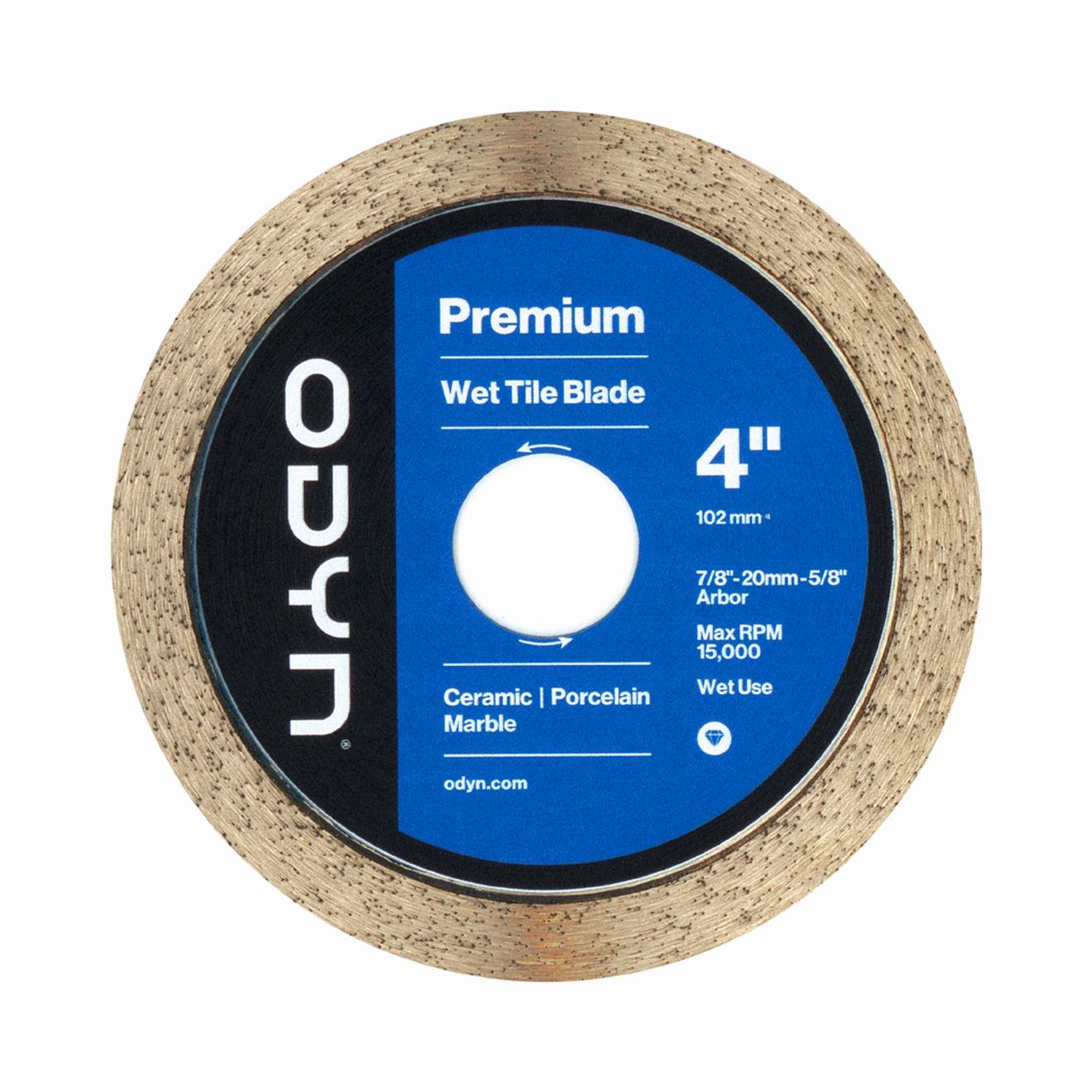 Odyn 4 in. Premium Wet Tile Blade