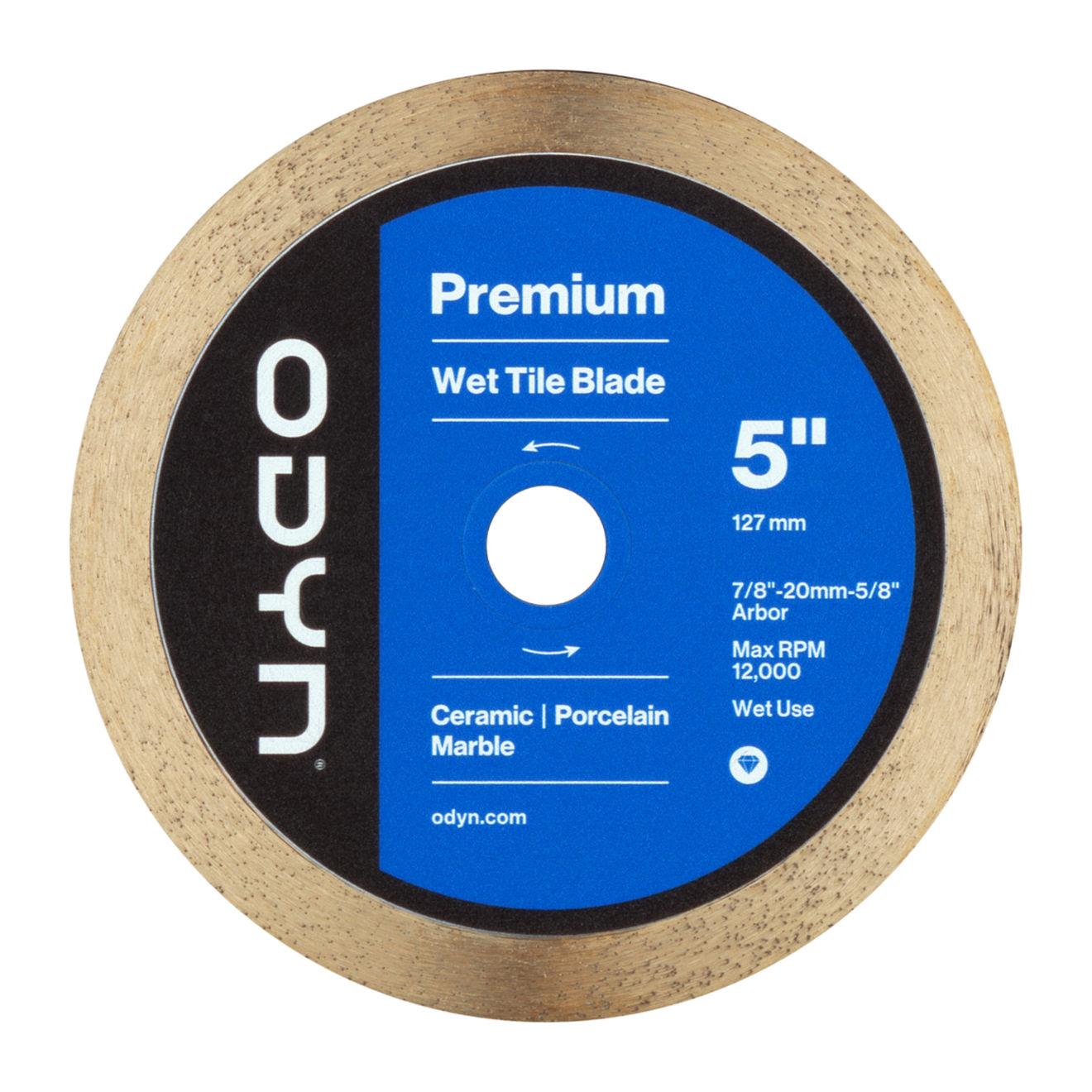 Odyn 5 in. Premium Wet Tile Blade