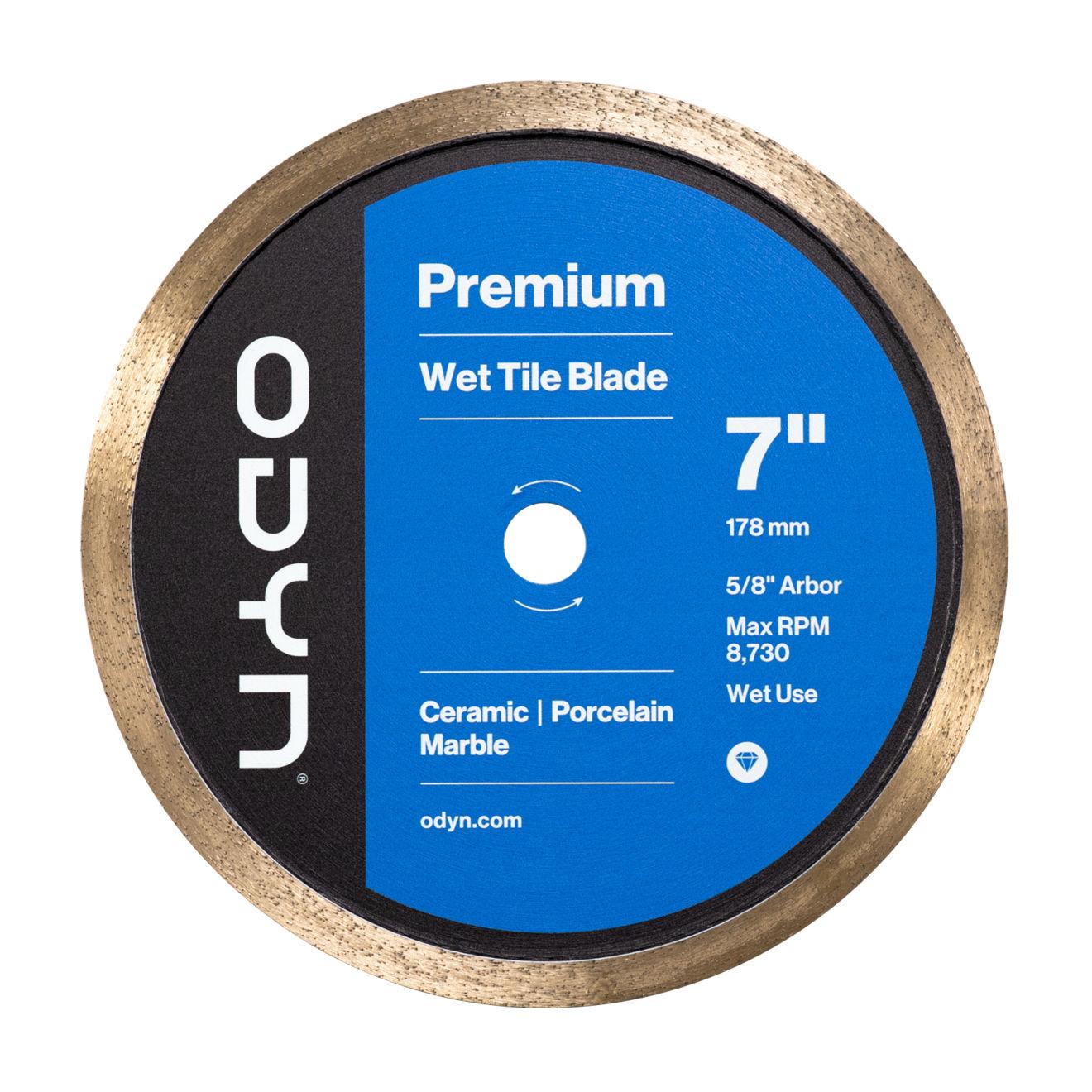 Odyn 7 in. Premium Wet Tile Blade