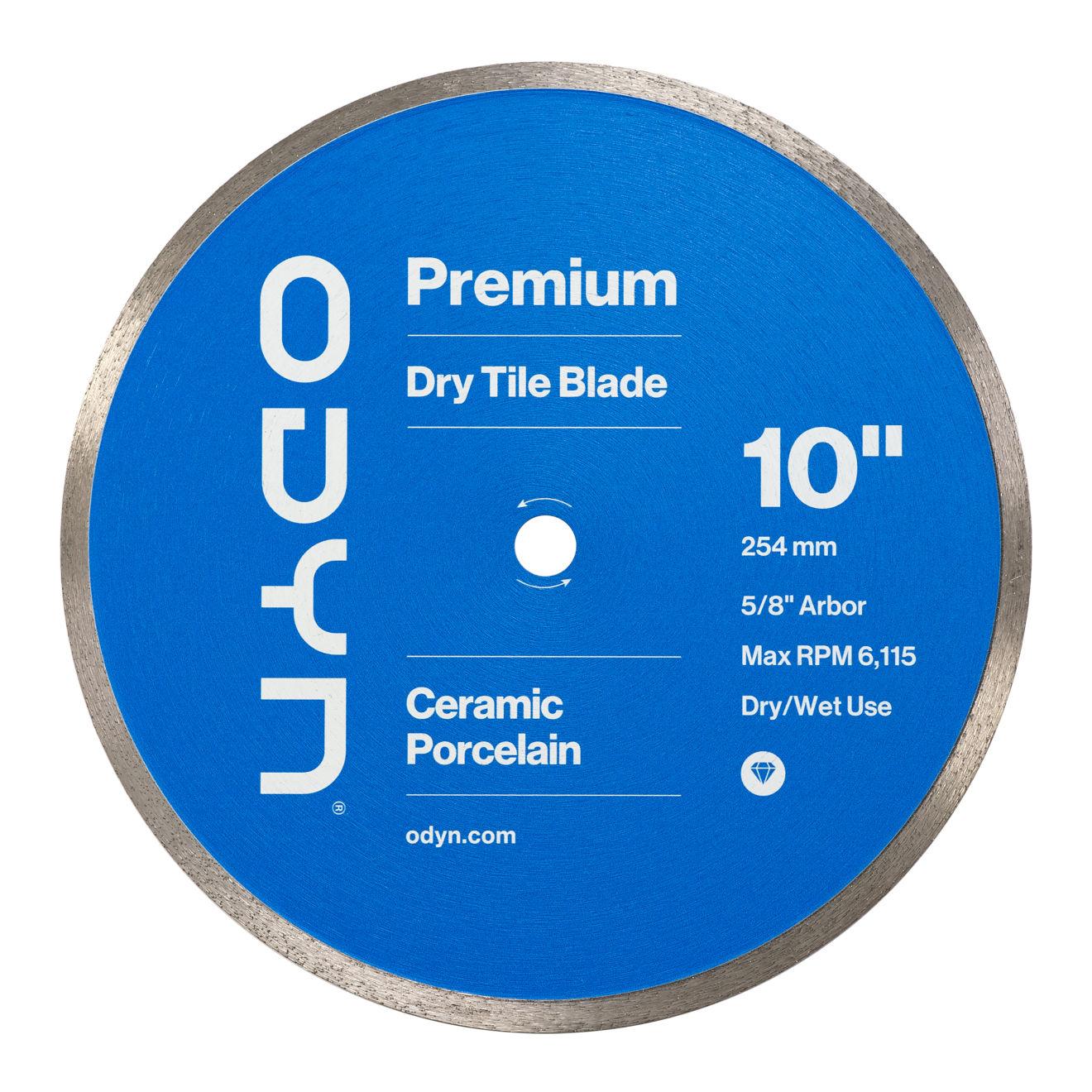 Odyn 10 in. Premium Dry Tile Blade