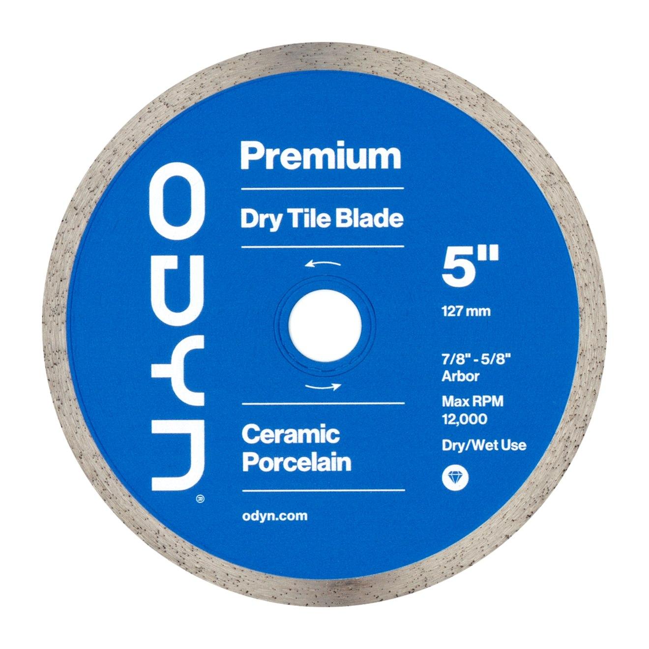 Odyn 5 in. Premium Dry Tile Blade