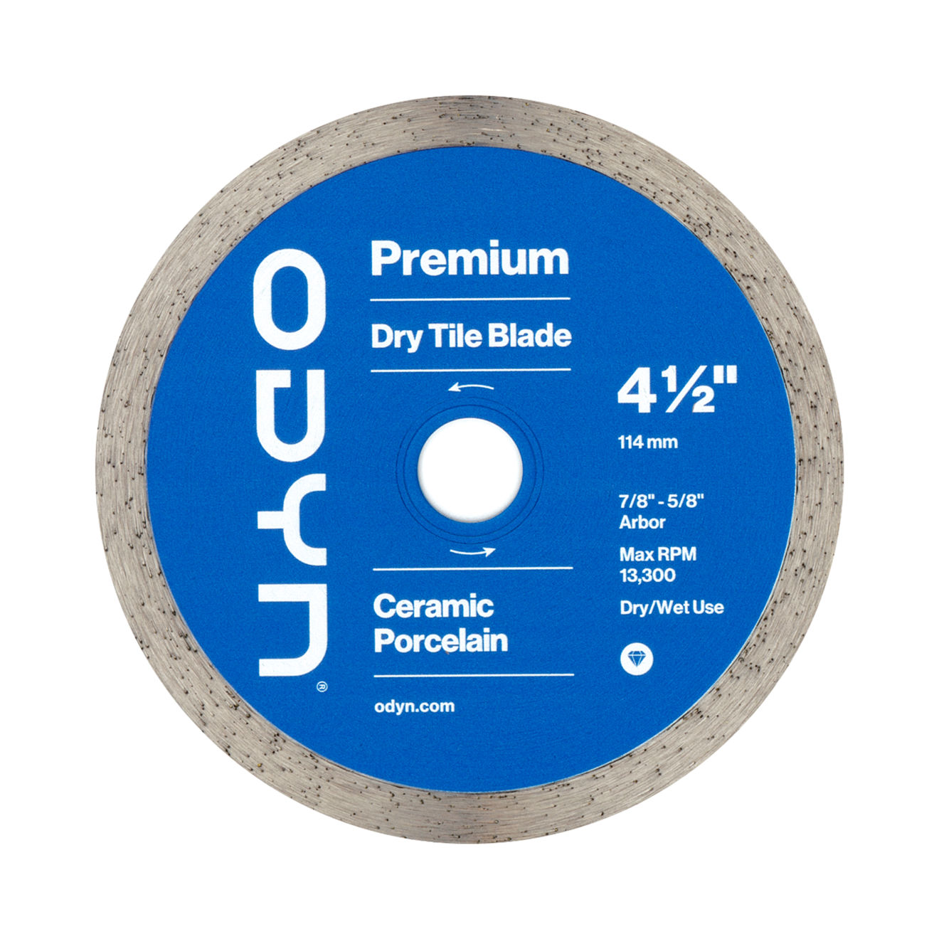 Odyn 4-1/2 in. Premium Dry Tile Blade