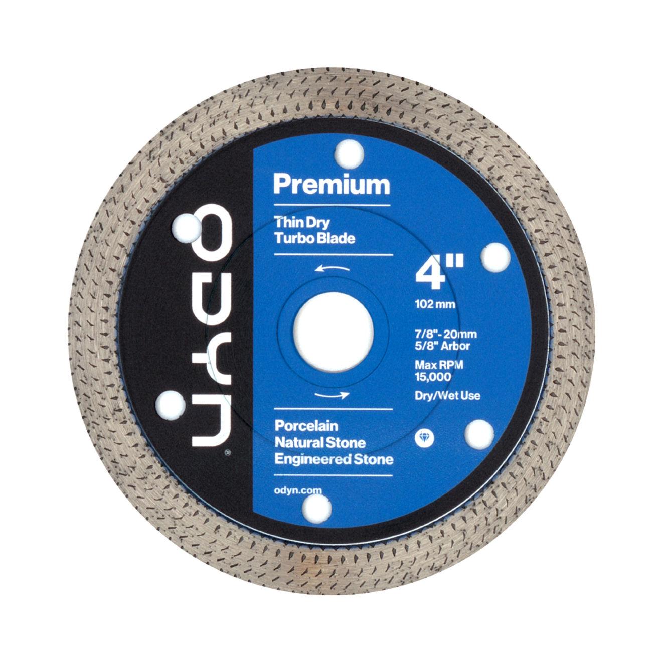 Odyn 4 in. Premium Thin Dry Turbo Blade