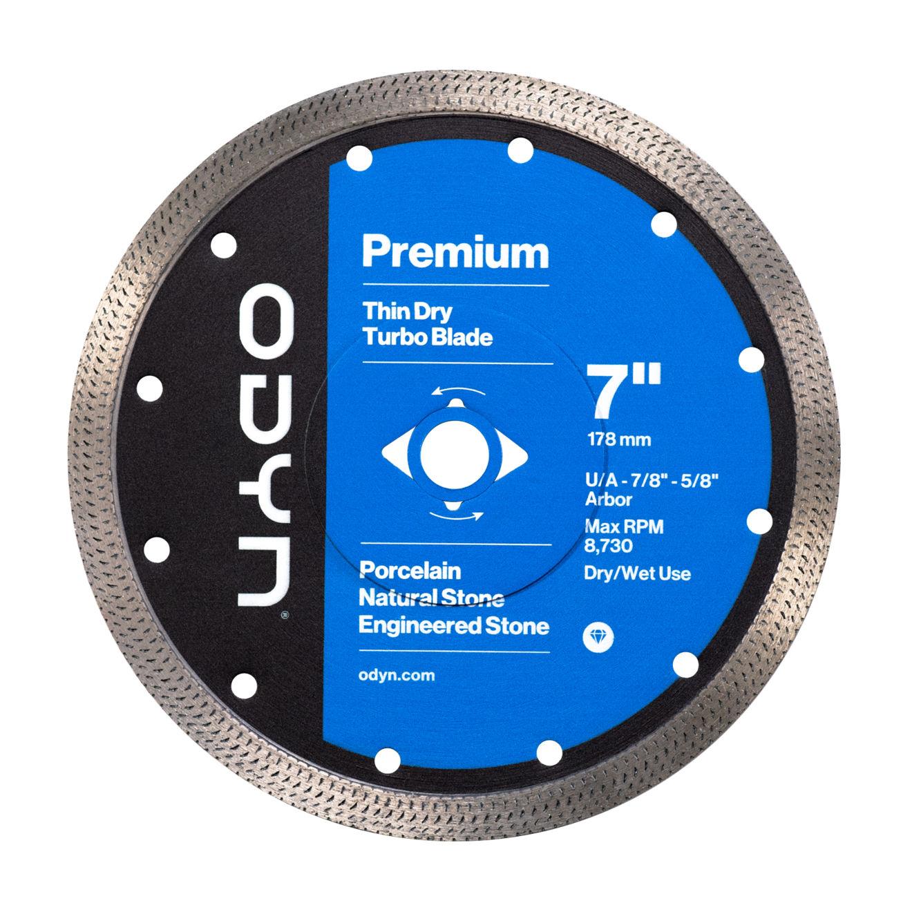Odyn 7 in. Premium Thin Dry Turbo Blade