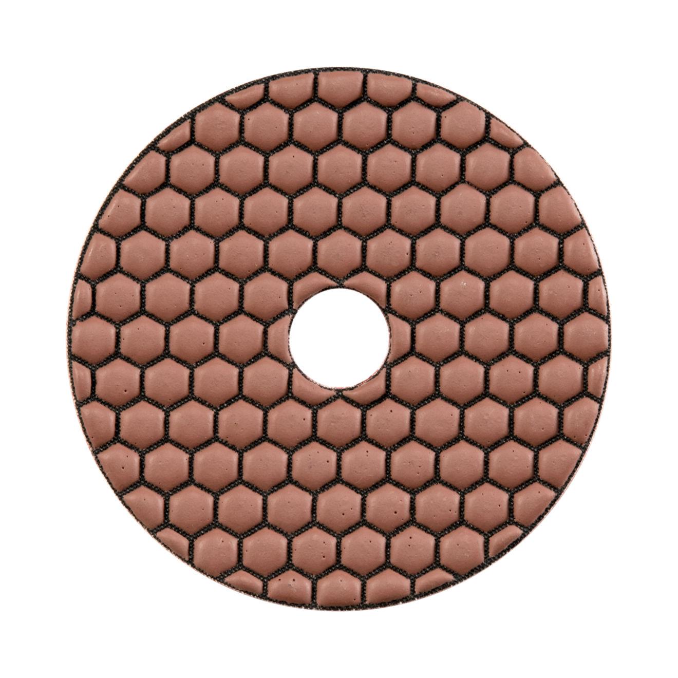 """ODYN General Dry Polishing Pad 4"""" x 5/8"""" - 100 Grit"""