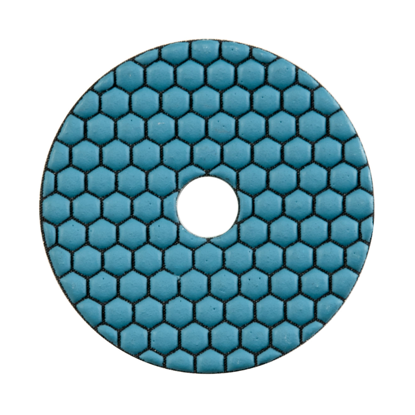 """ODYN General Dry Polishing Pad 4"""" x 5/8"""" - 50 Grit"""