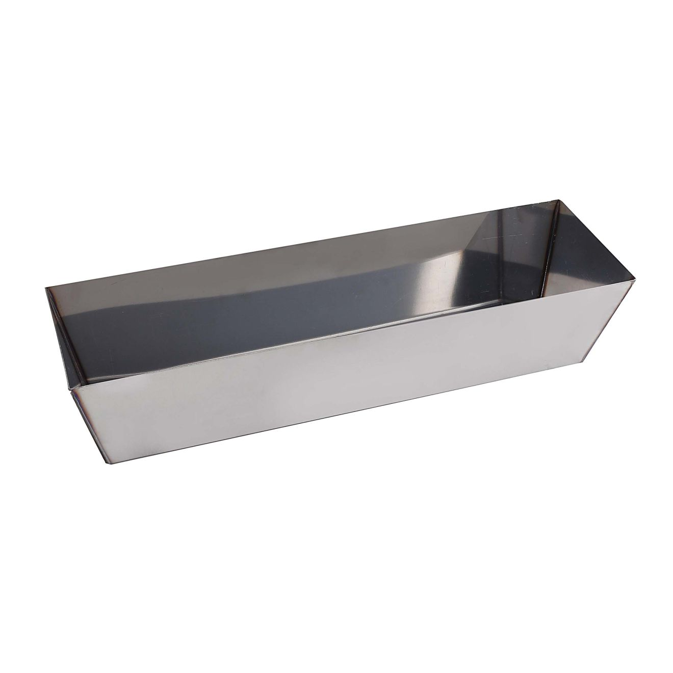 Odyn 14 in. Stainless Steel Mud Pan with Curved Bottom