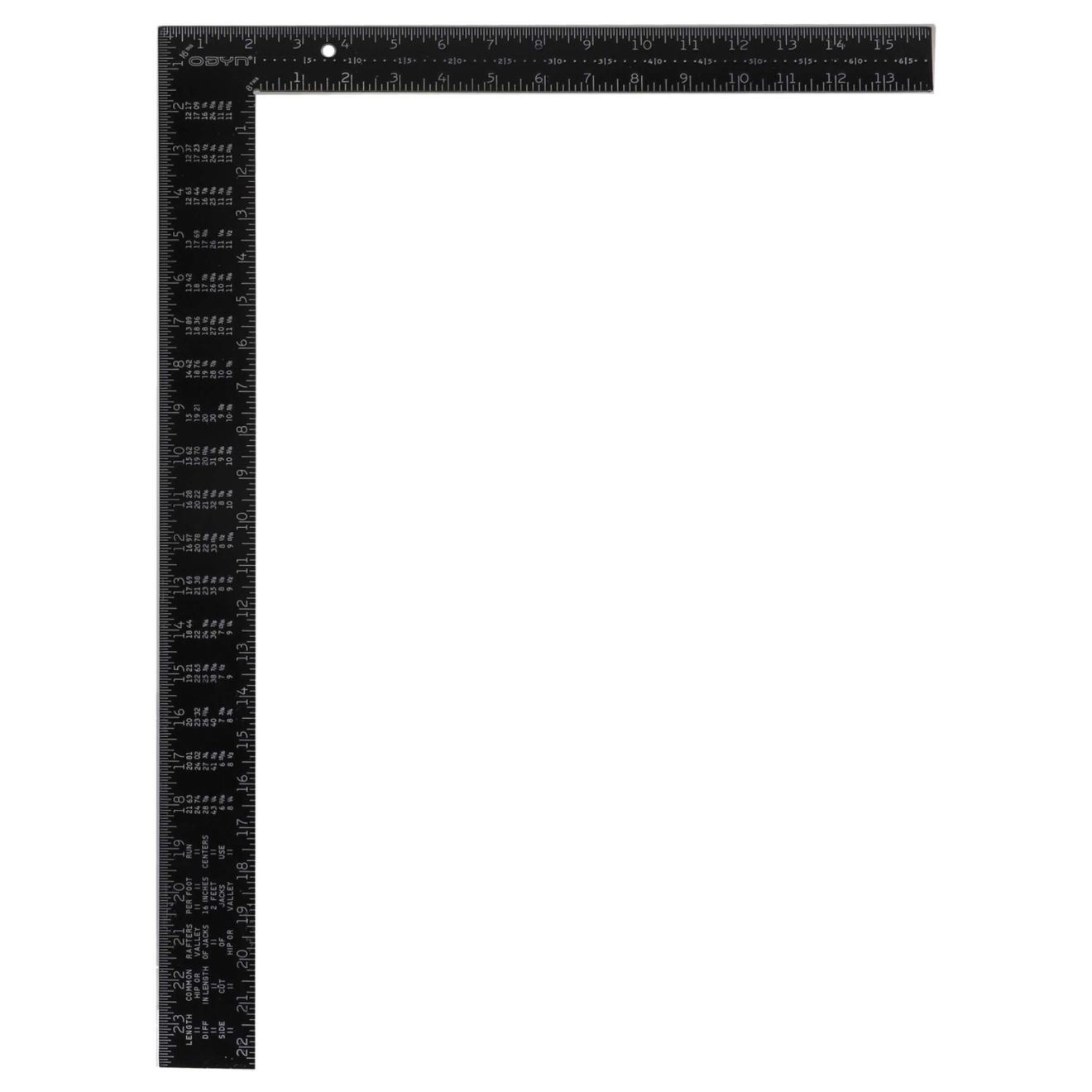 Odyn 16 in. x 24 in. Aluminum Framing Square-