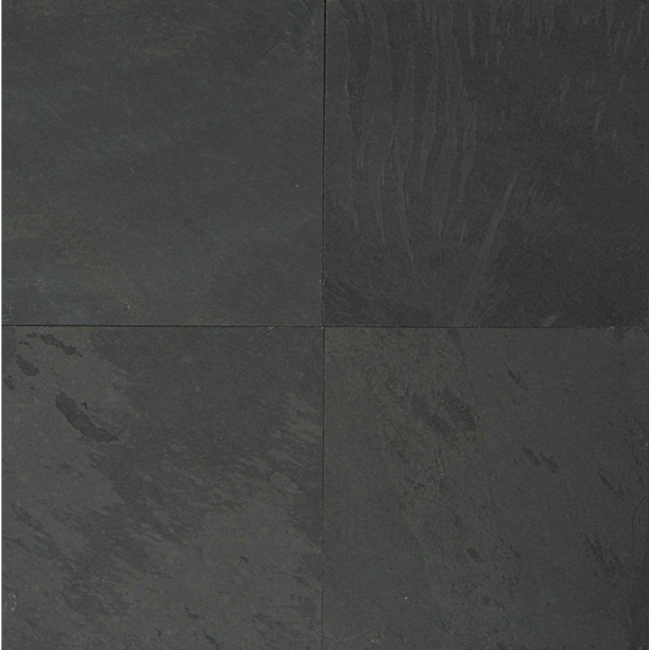 "Black Pearl 24"" x 24"" Floor & Wall Tile"