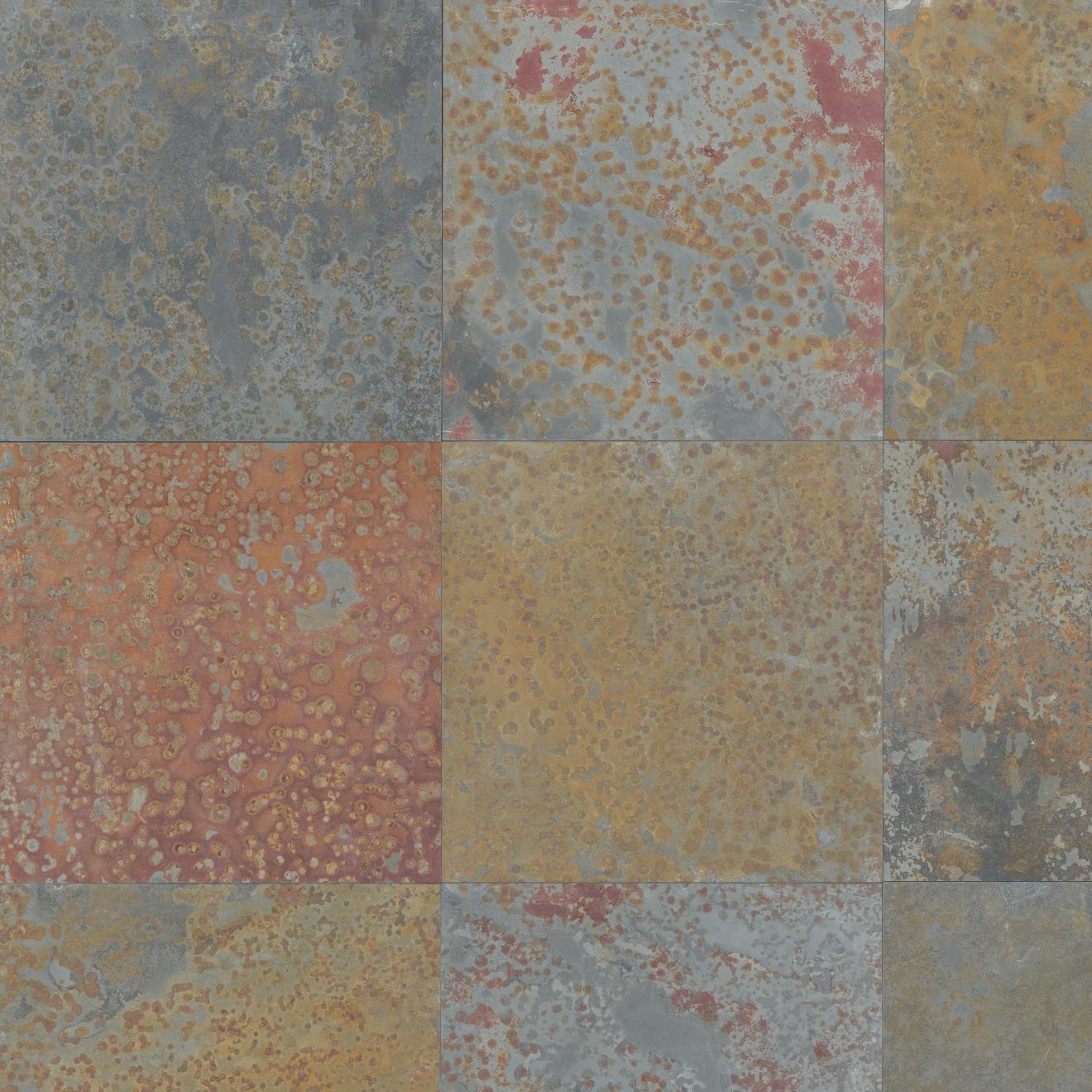 "Brazilian Multicolor 16"" x 16"" Floor Tile"