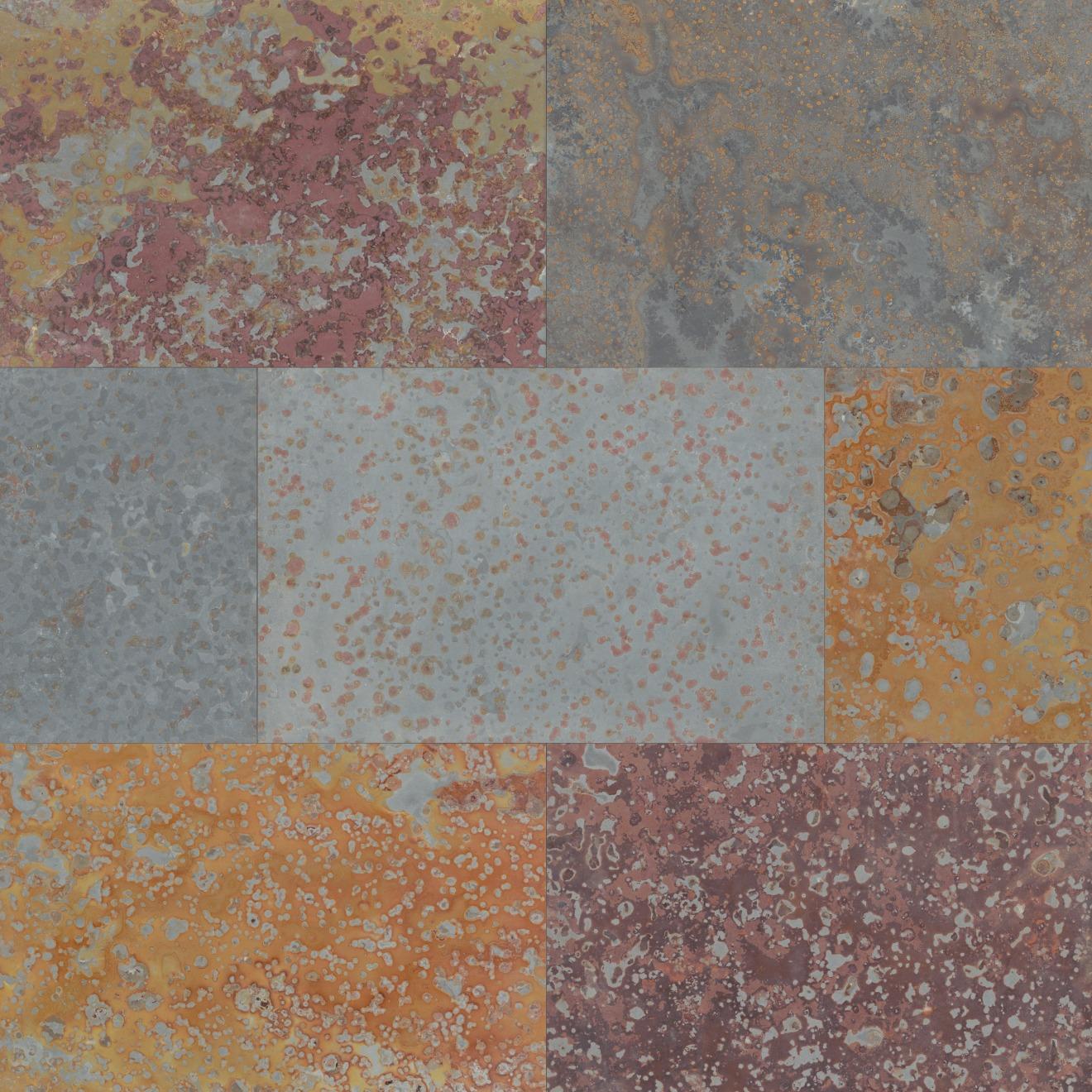 "Brazilian Multicolor 16"" x 24"" Floor Tile"