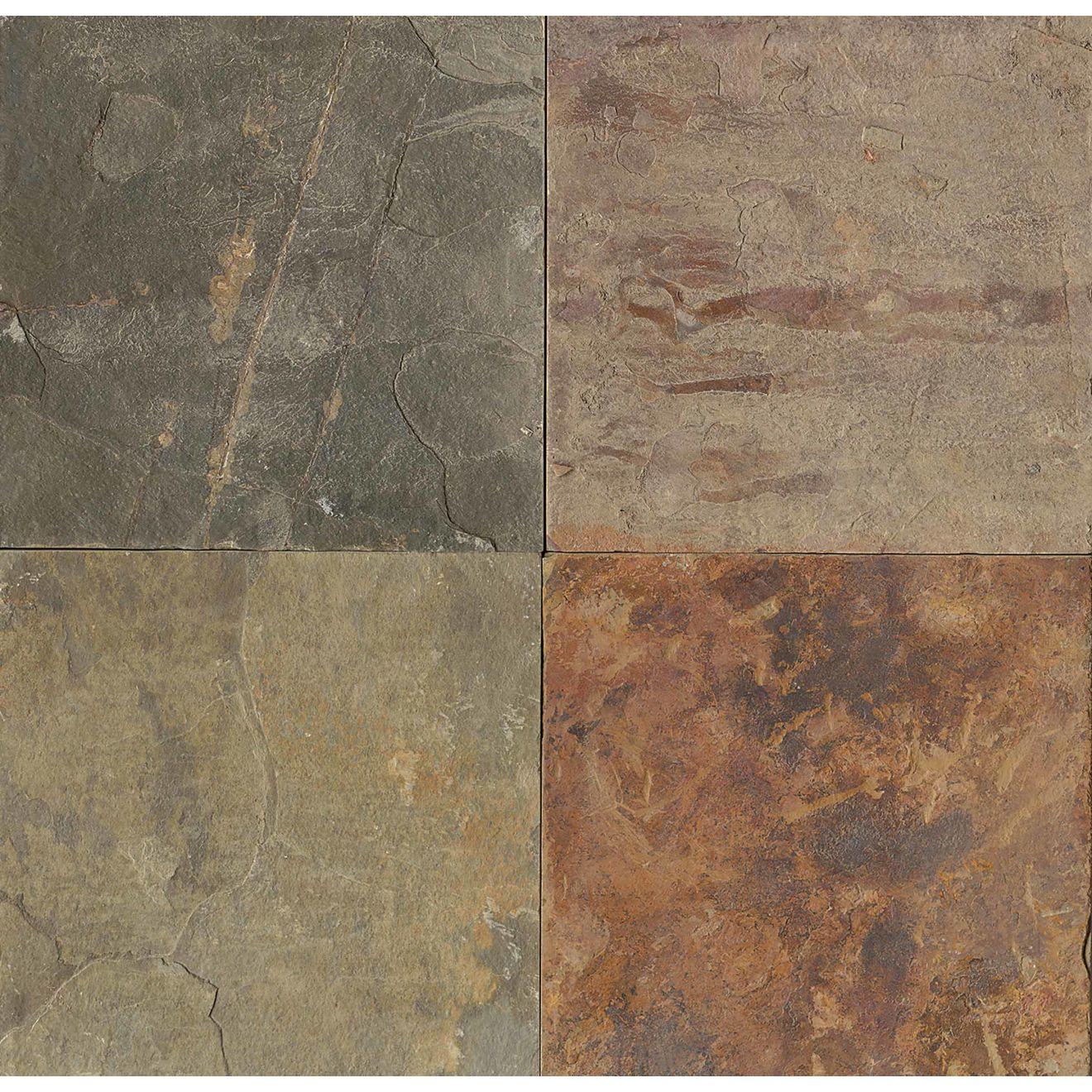 """Butterscotch 24"""" x 24"""" Floor Tile"""