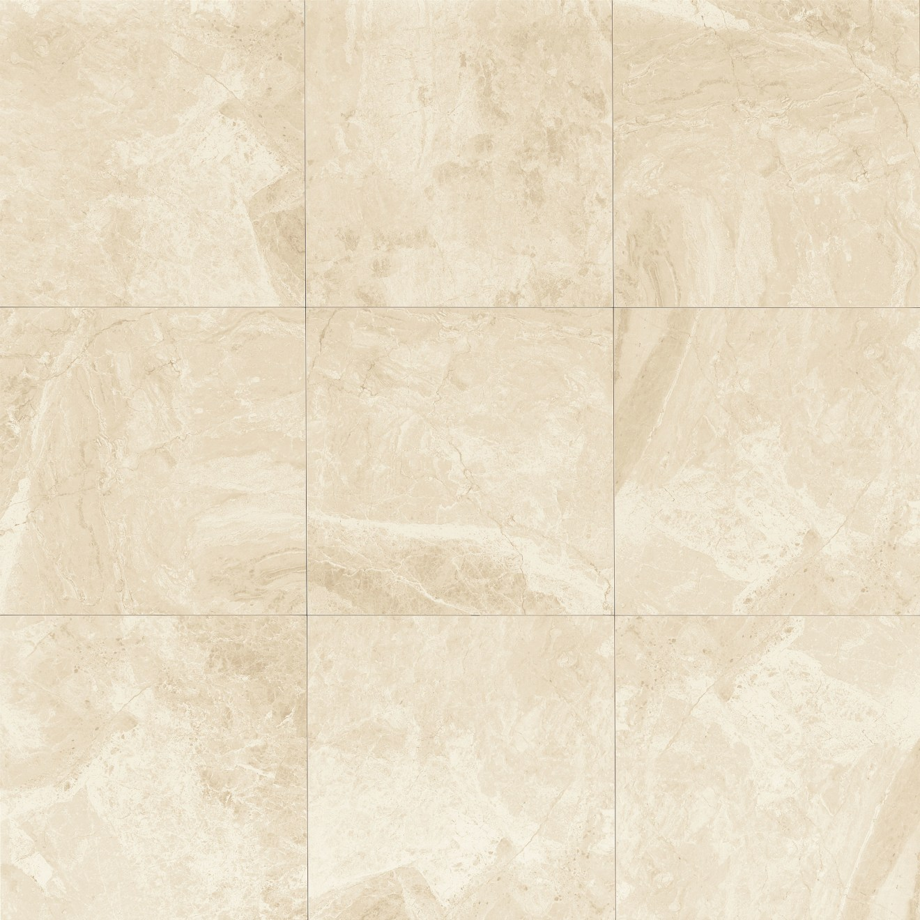 "Classic 12"" x 12"" Floor & Wall Tile in Cremino"
