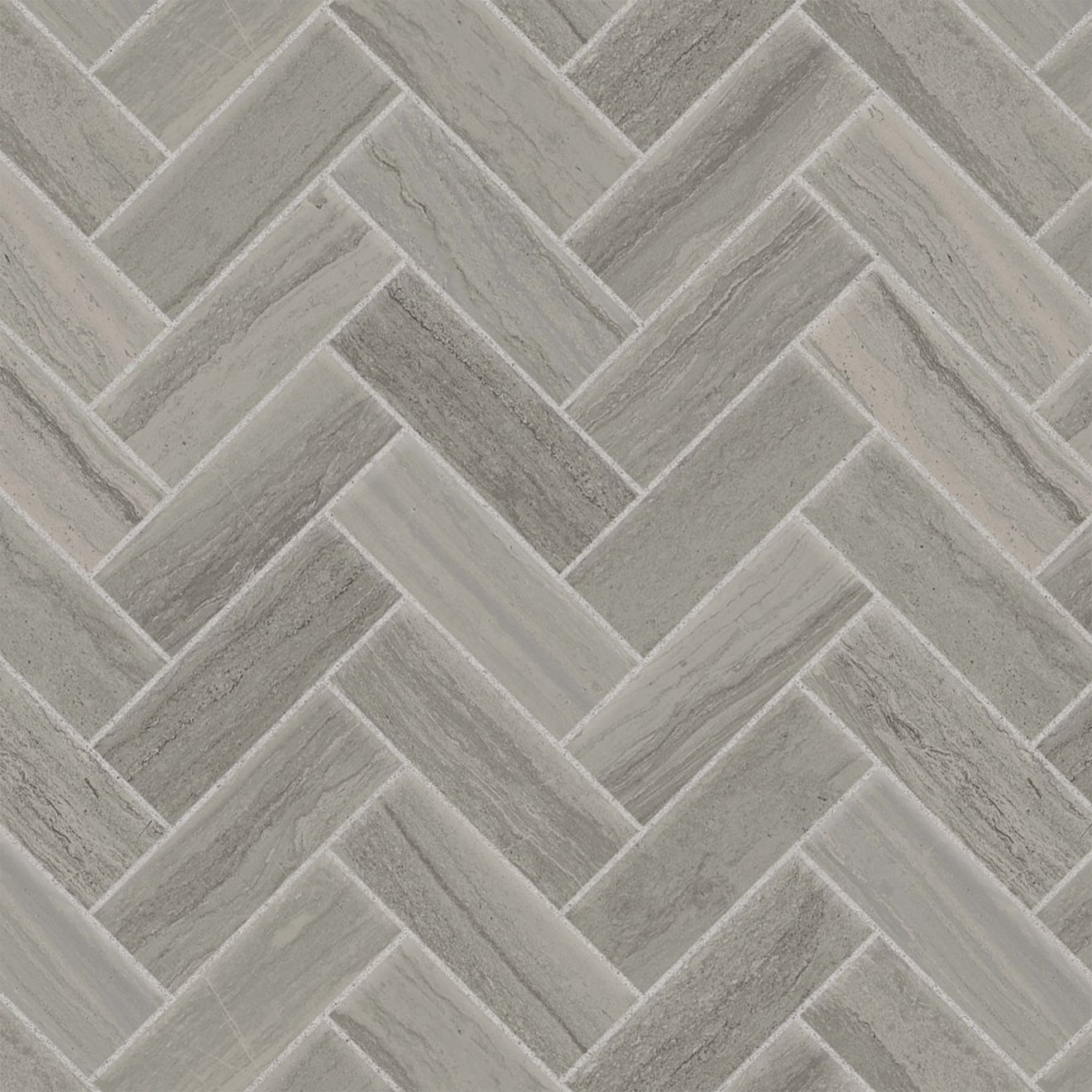 "Highland 1"" x 4"" Floor & Wall Mosaic in Greige"
