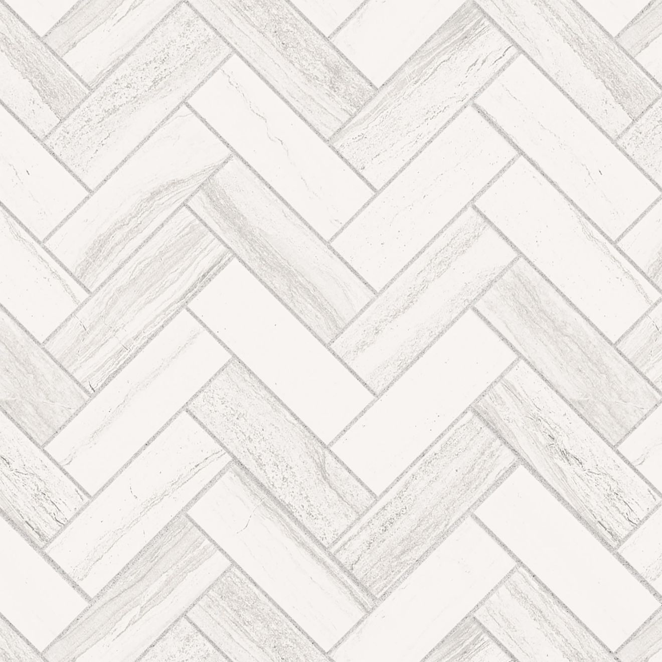 """Highland 1"""" x 4"""" Floor & Wall Mosaic in White"""