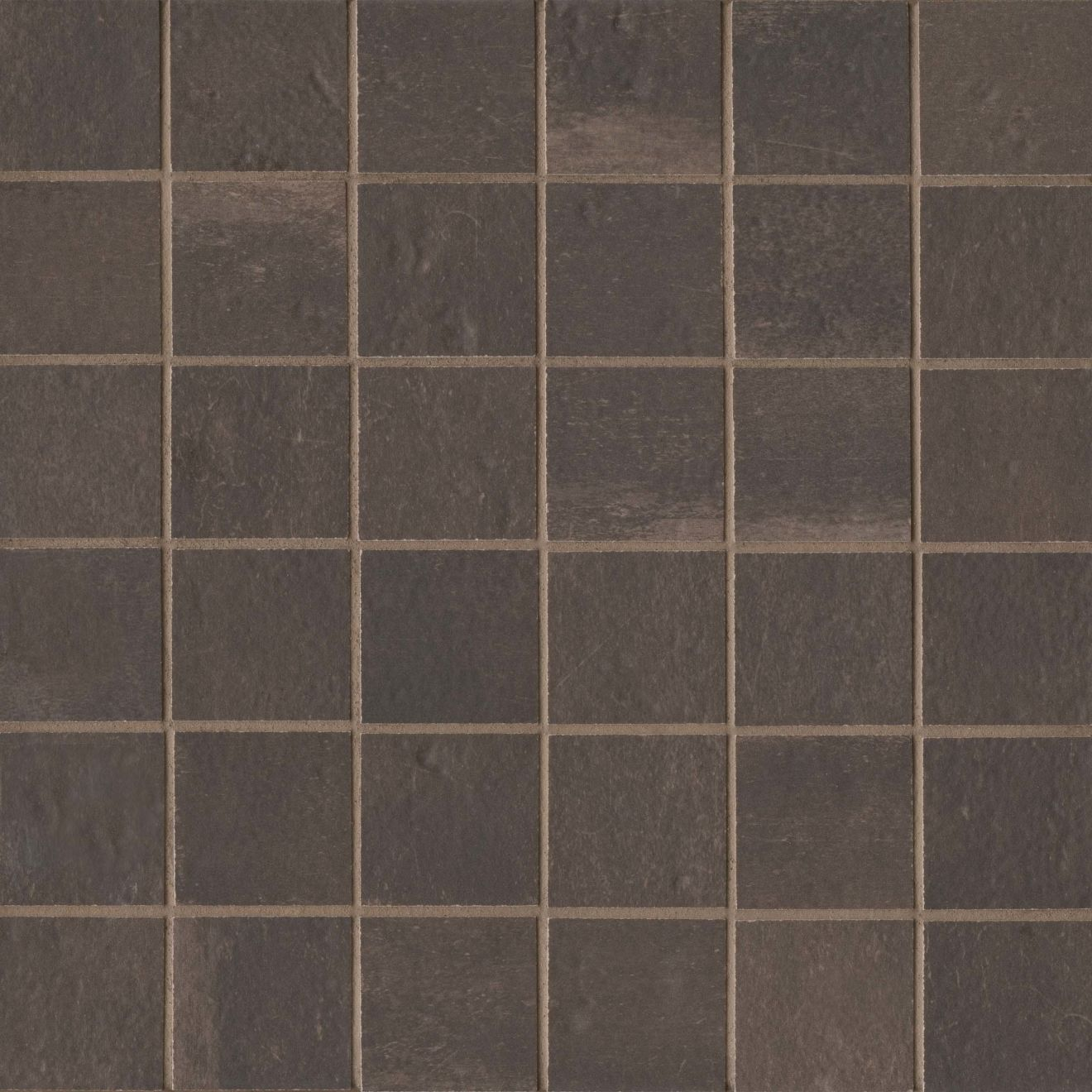 """Palazzo 2"""" x 2"""" Floor & Wall Mosaic in Antique Cotto"""