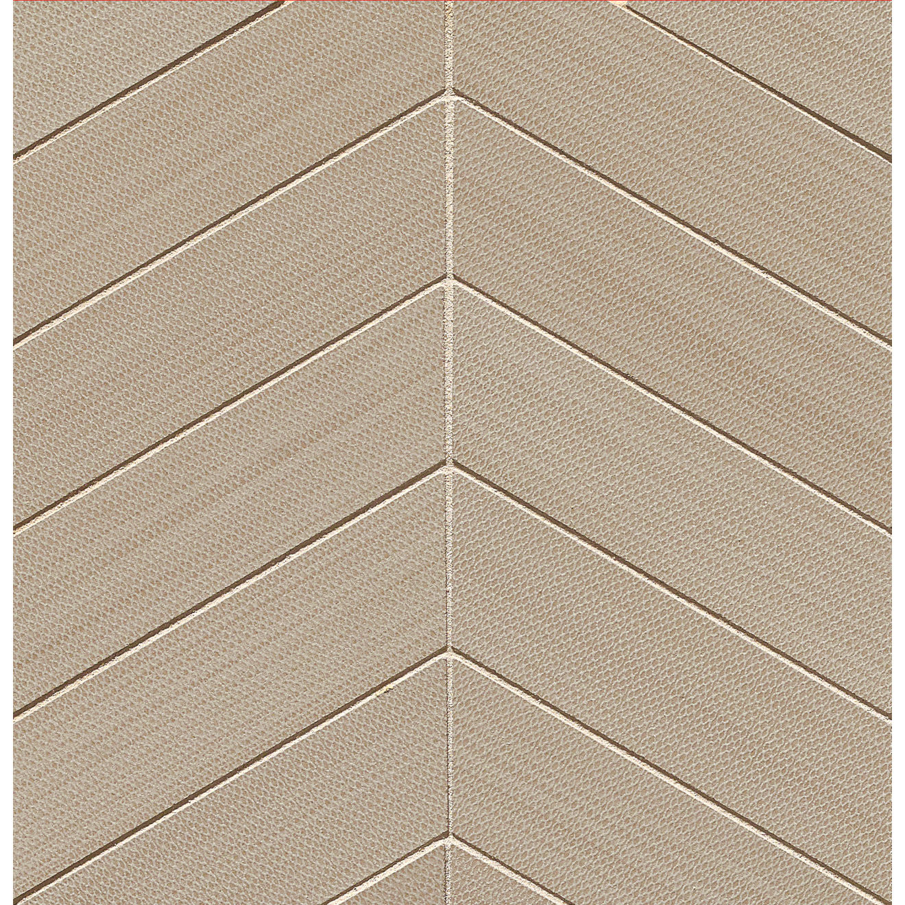 """City Scene 2"""" x 2"""" Floor & Wall Mosaic in Taupe"""