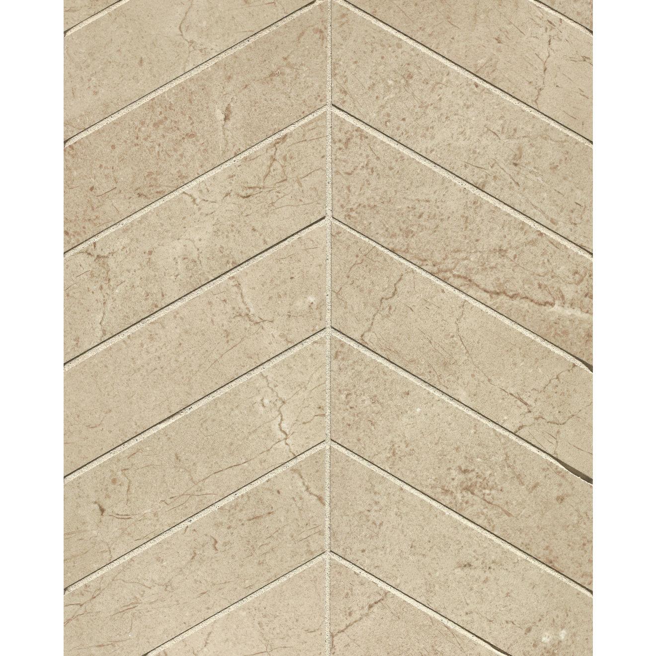 """Marfil 2"""" x 2"""" Floor & Wall Mosaic in Crema"""