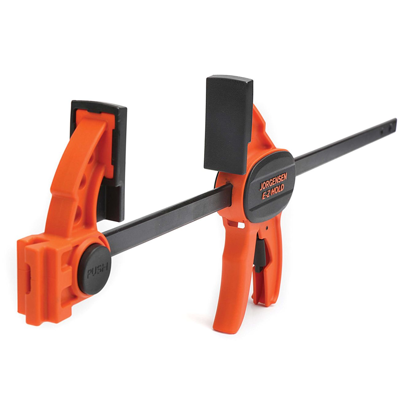 Jorgensen 12 in. E-Z Hold Expandable Bar Clamp with 2-1/2 in. Reach